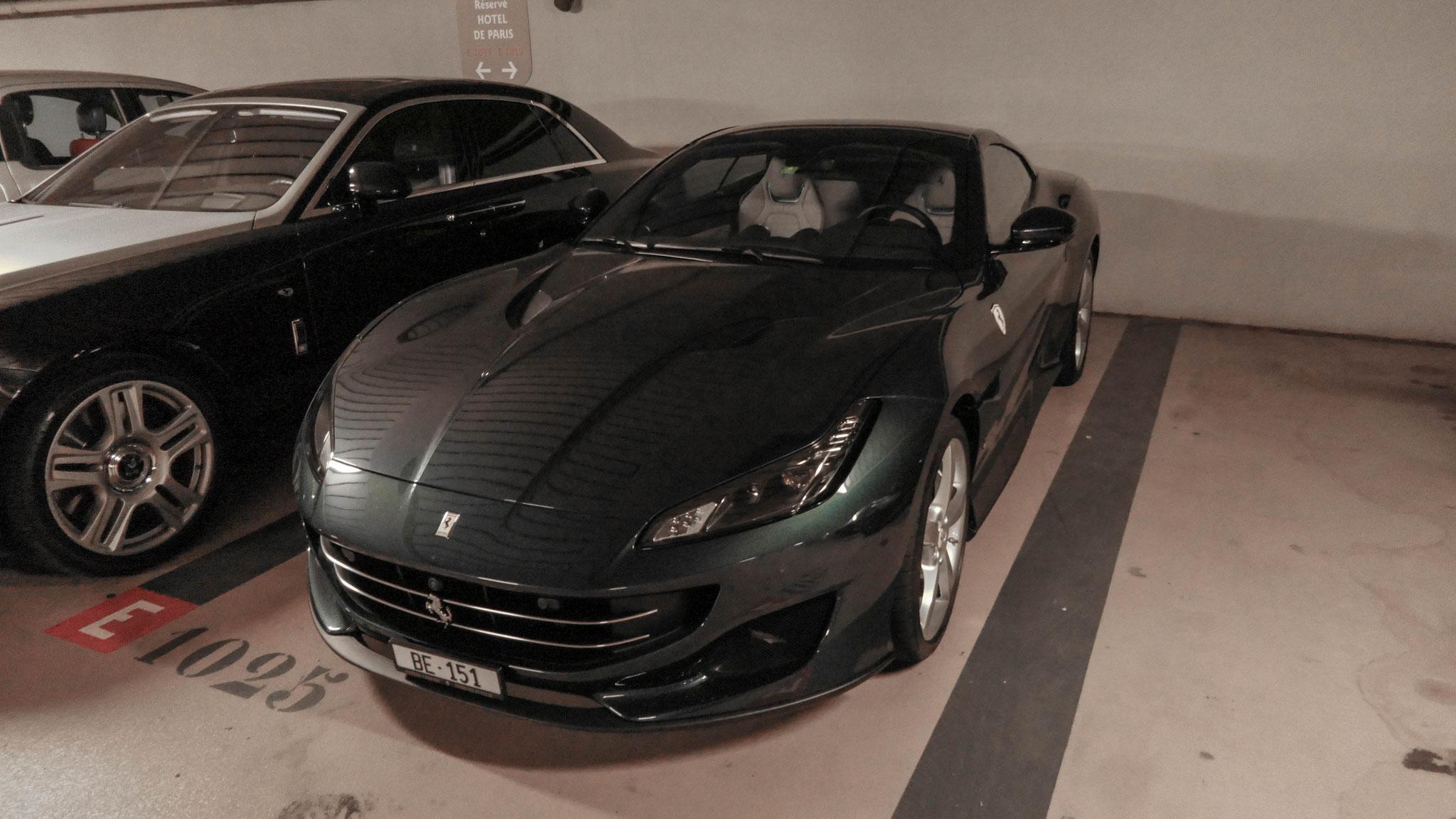 Ferrari Portofino - BE-151 (CH)