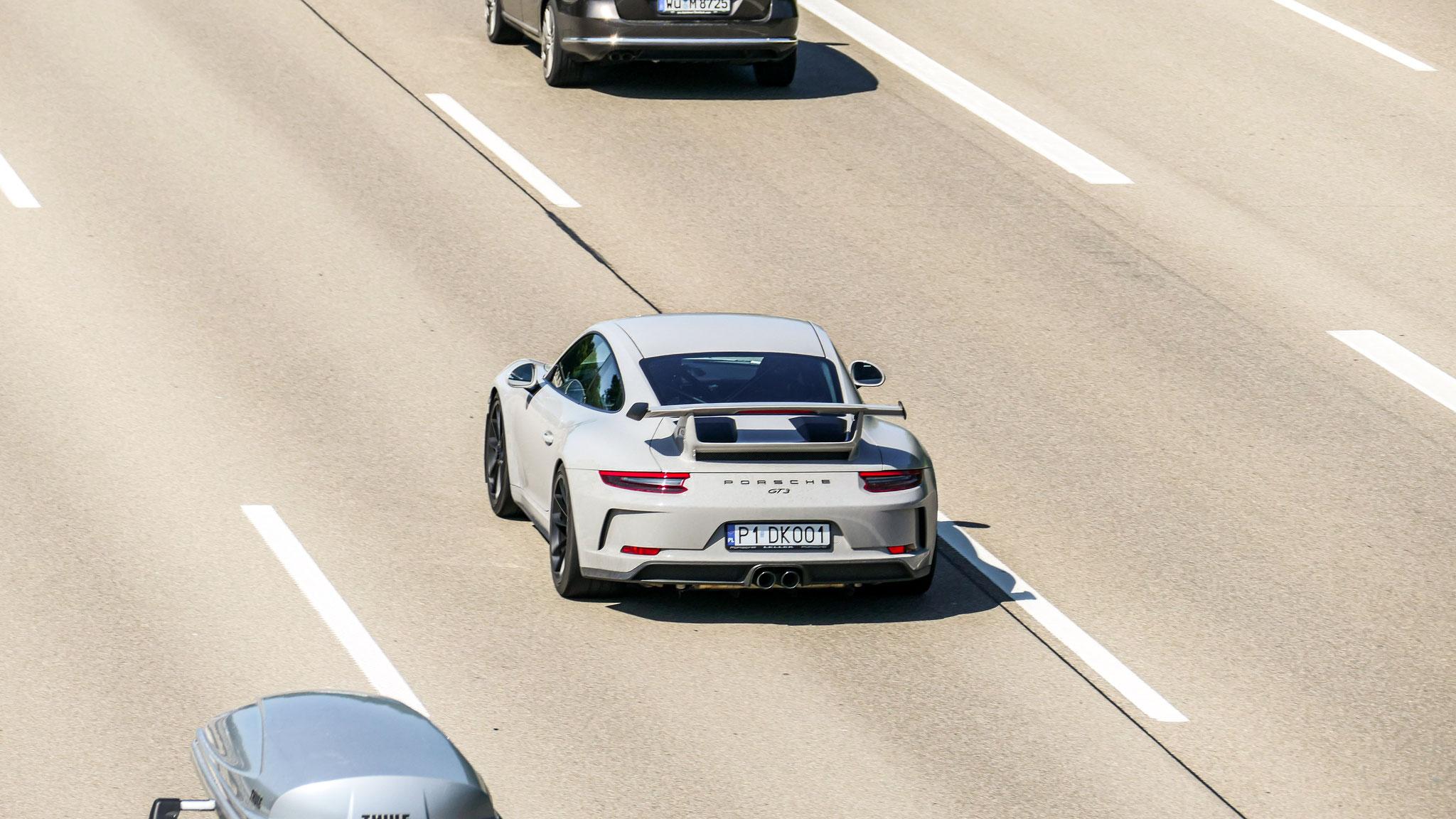 Porsche 991 GT3 - P1-DK001 (PL)