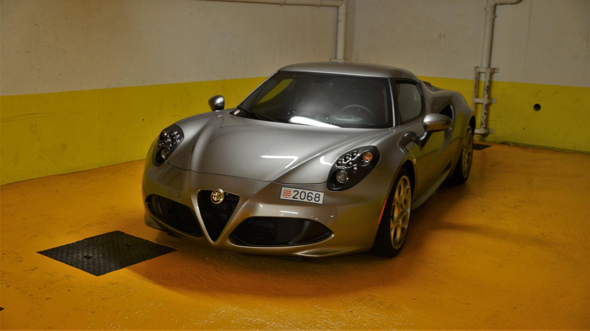 Alfa Romeo 4C - 2068 (MC)
