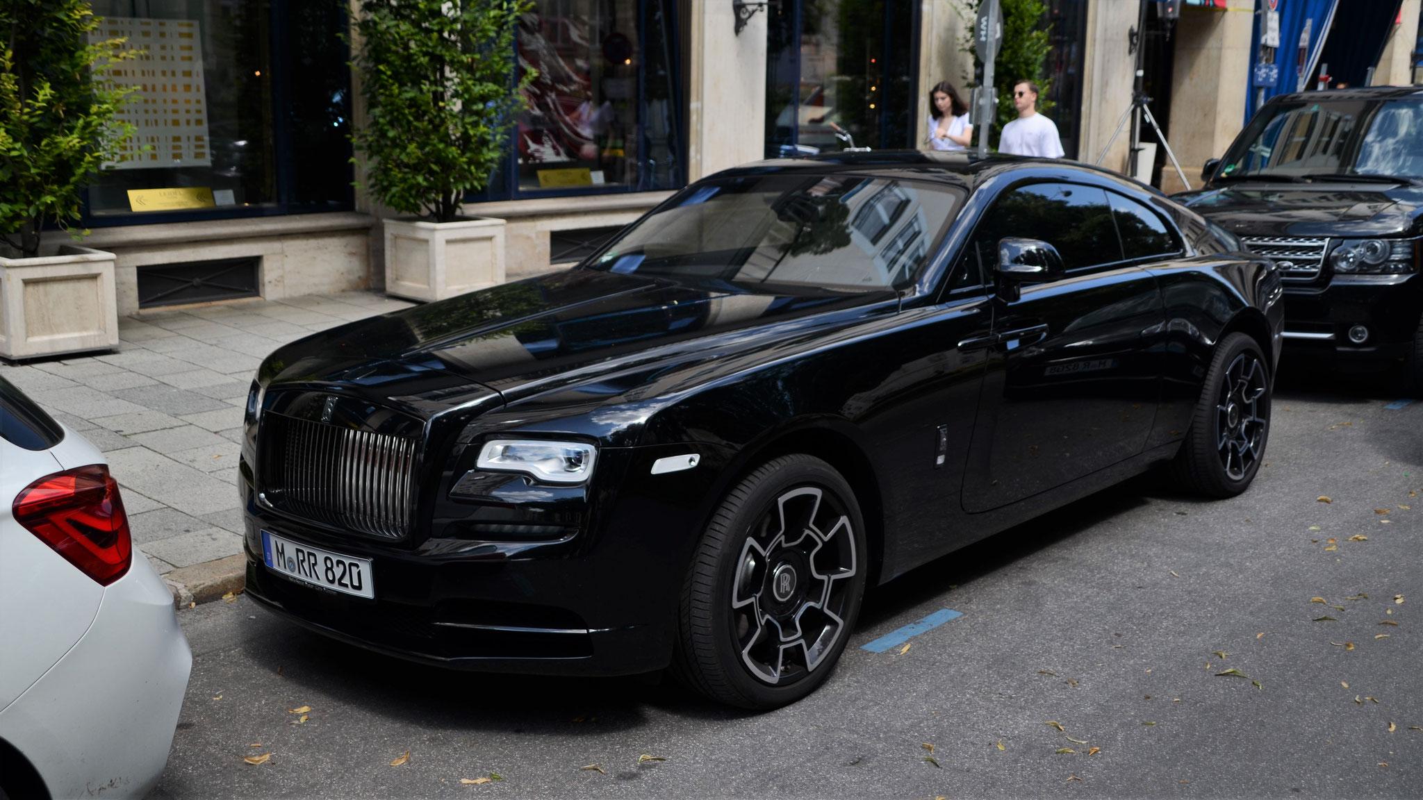 Rolls Royce Wraith Black Badge - M-RR-820