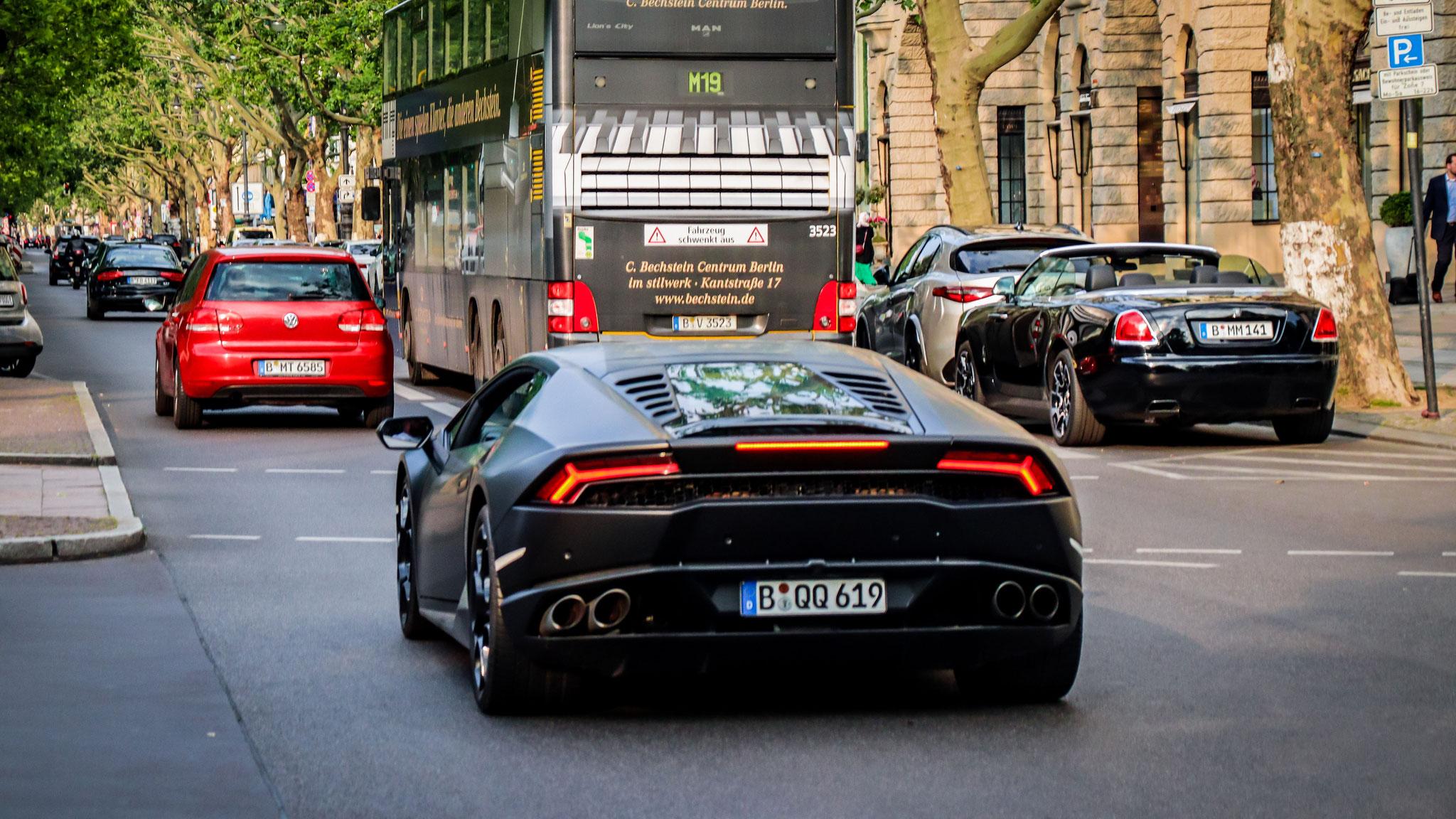 Lamborghini Huracan - B-QQ-619