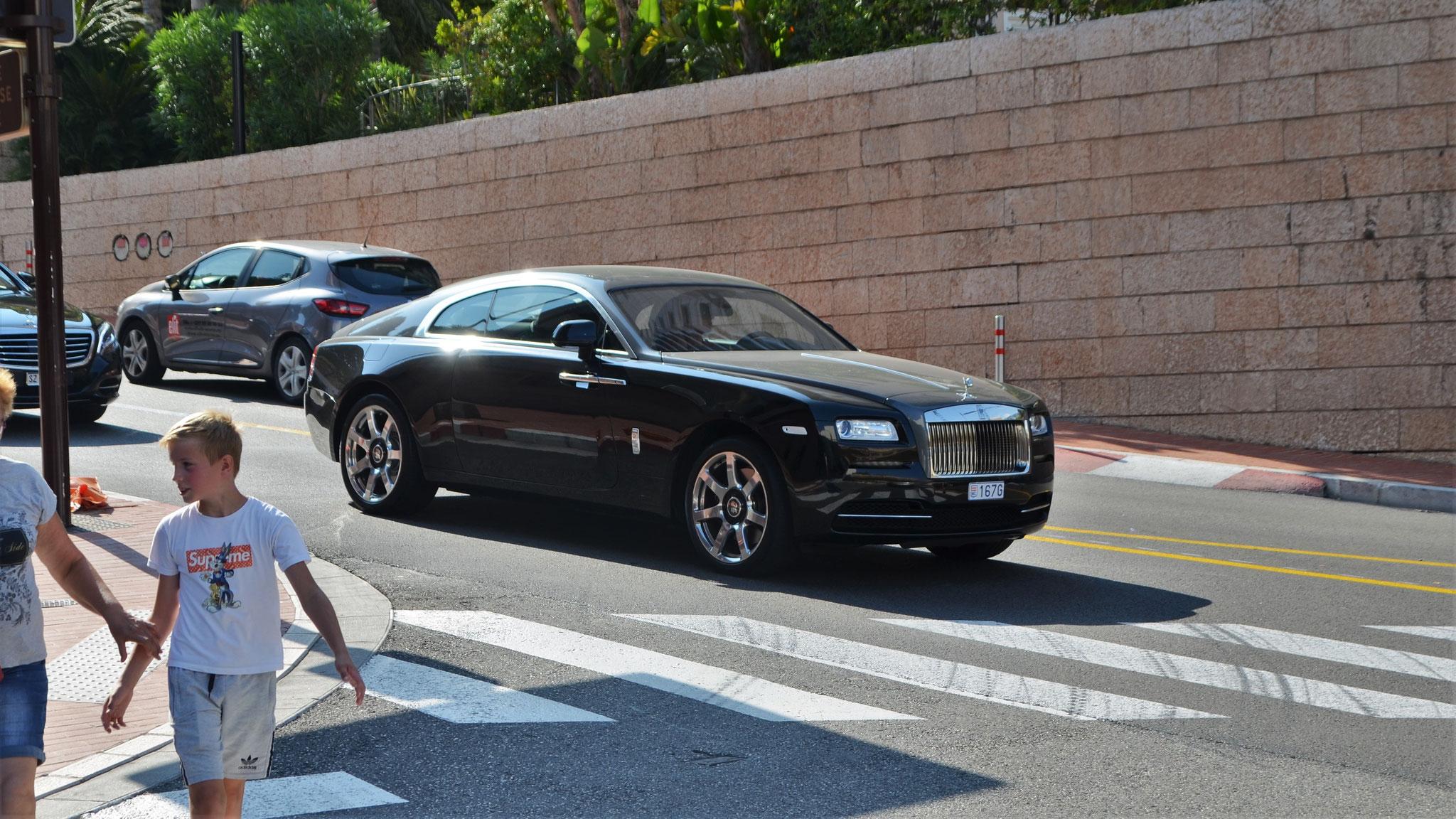 Rolls Royce Wraith - 167G (MC)