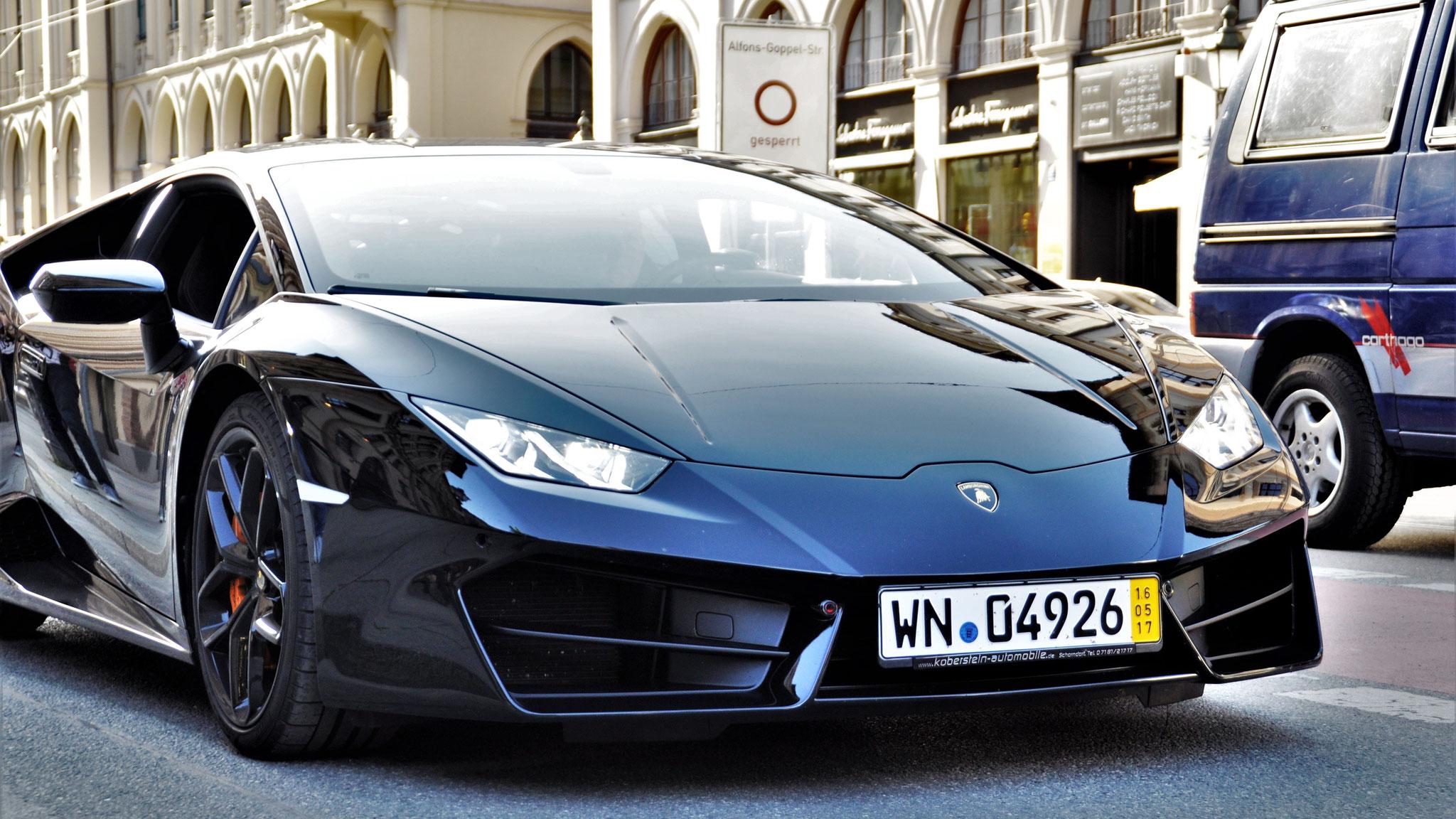 Lamborghini Huracan - WN-04926