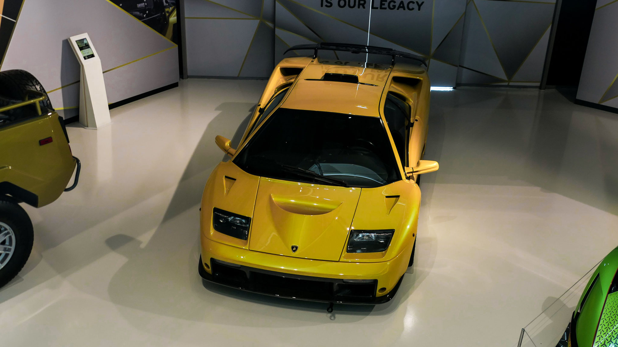 Lamborghini Diablo GT (Lamborghini Museum)
