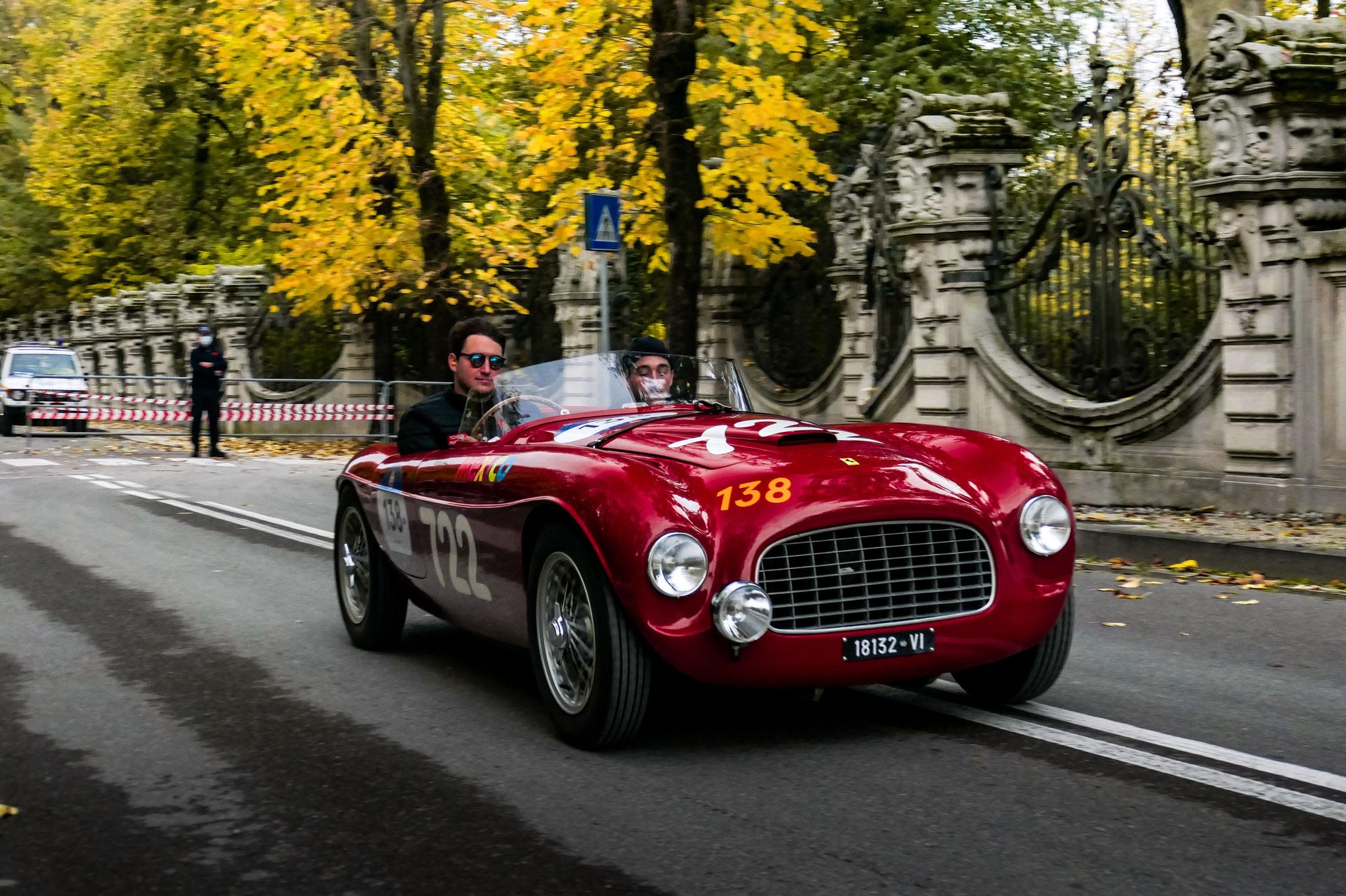Ferrari 166 Inter Spider Corsa Ansaloni