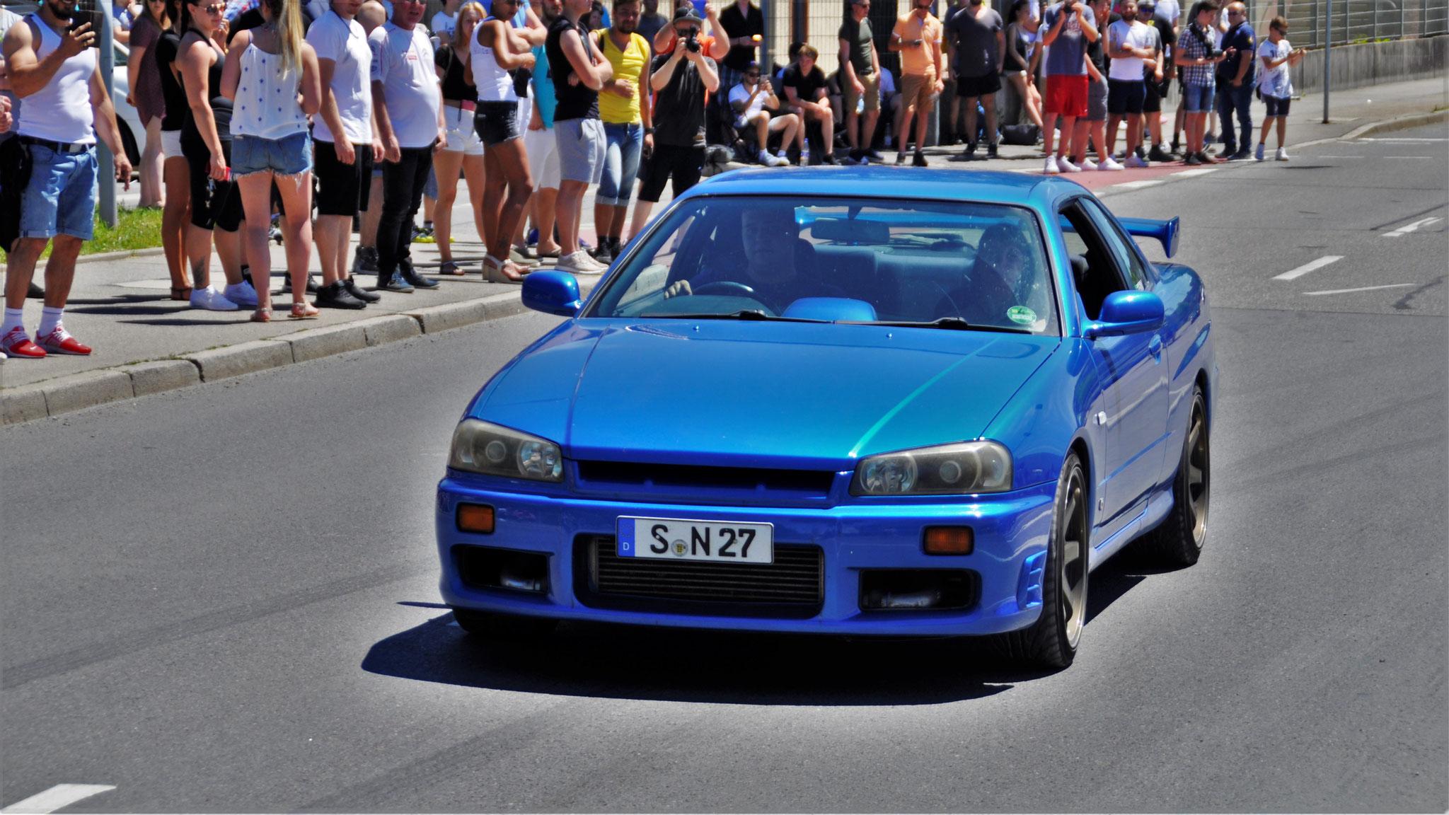 Nissan R34 GT-R - S-N-27