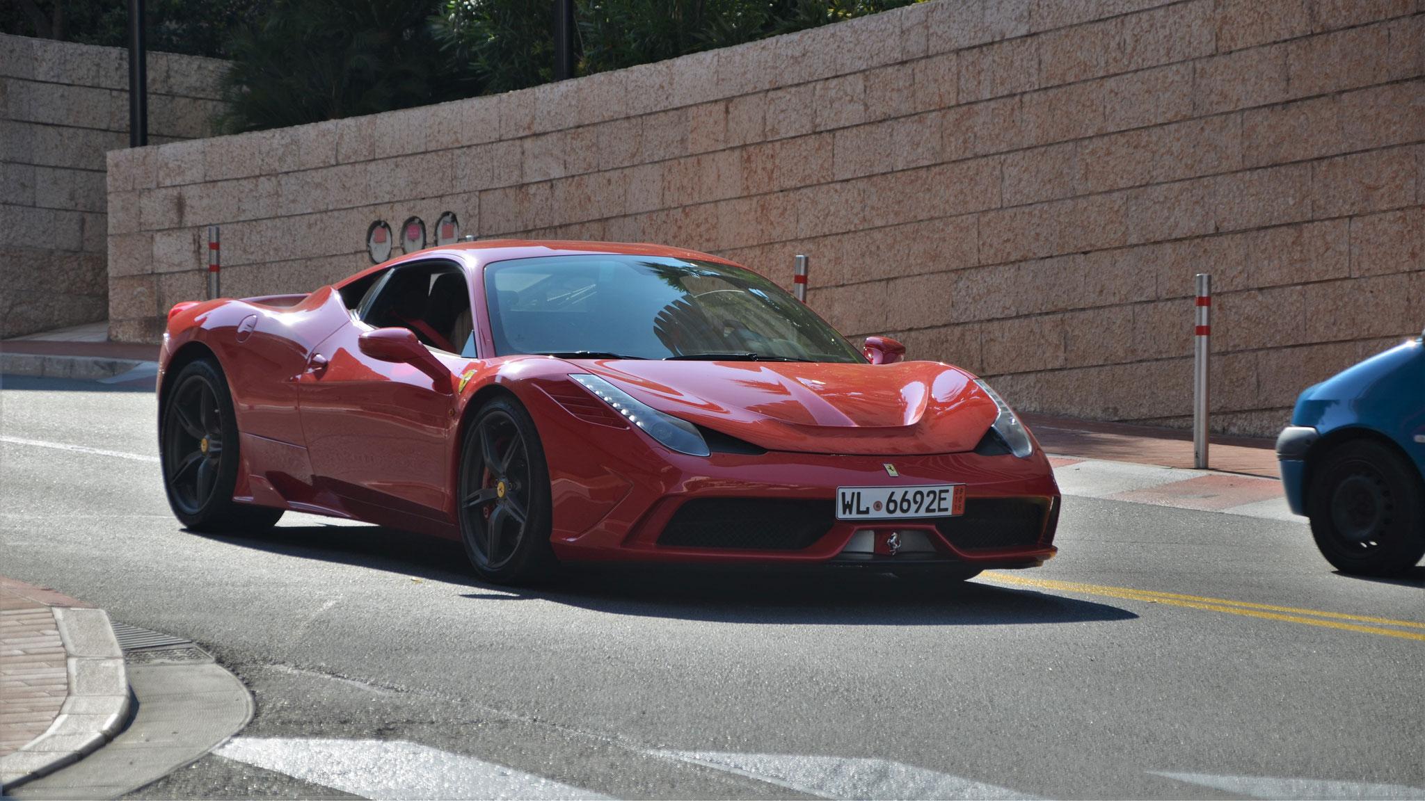 Ferrari 458 Speciale - WL-6692E