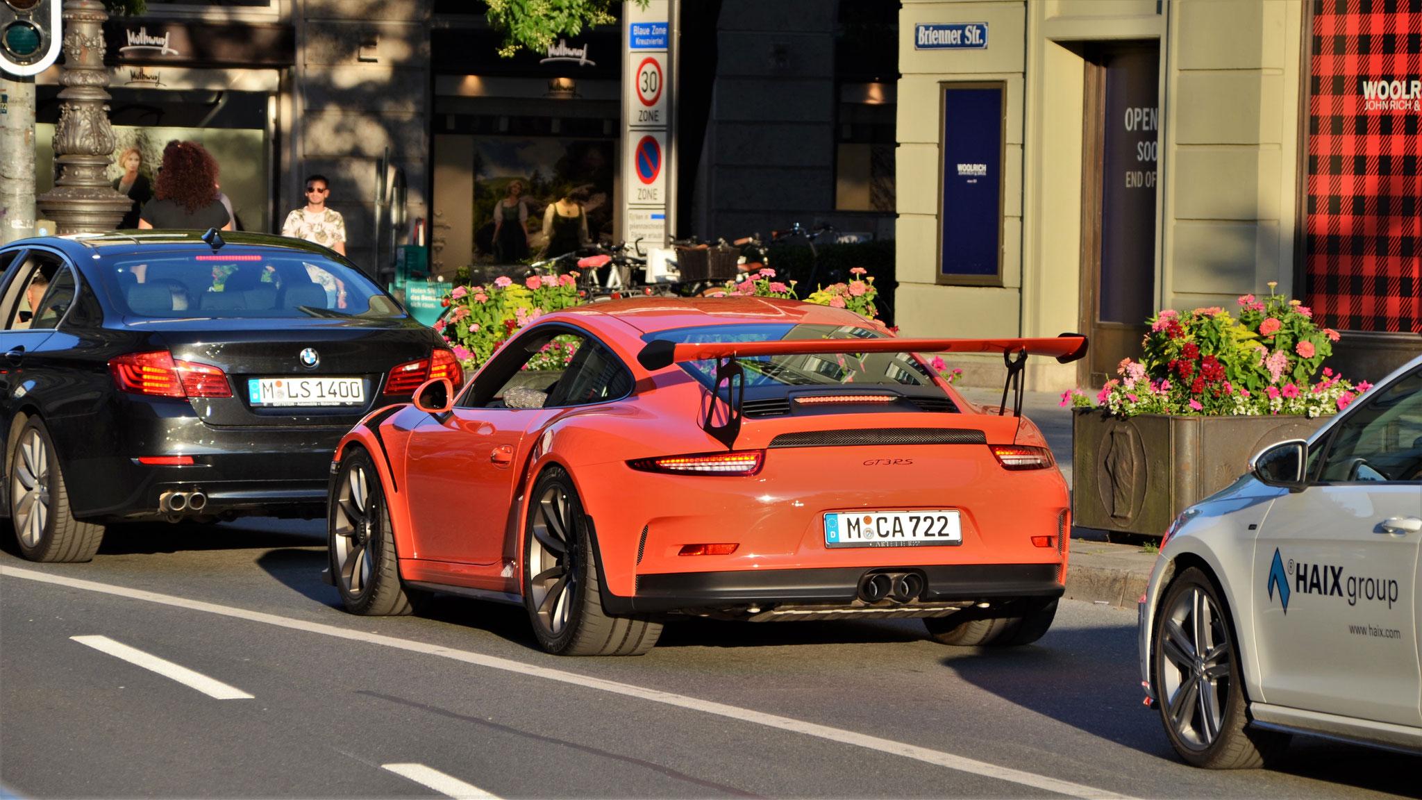 Porsche 911 GT3 RS - M-CA-722