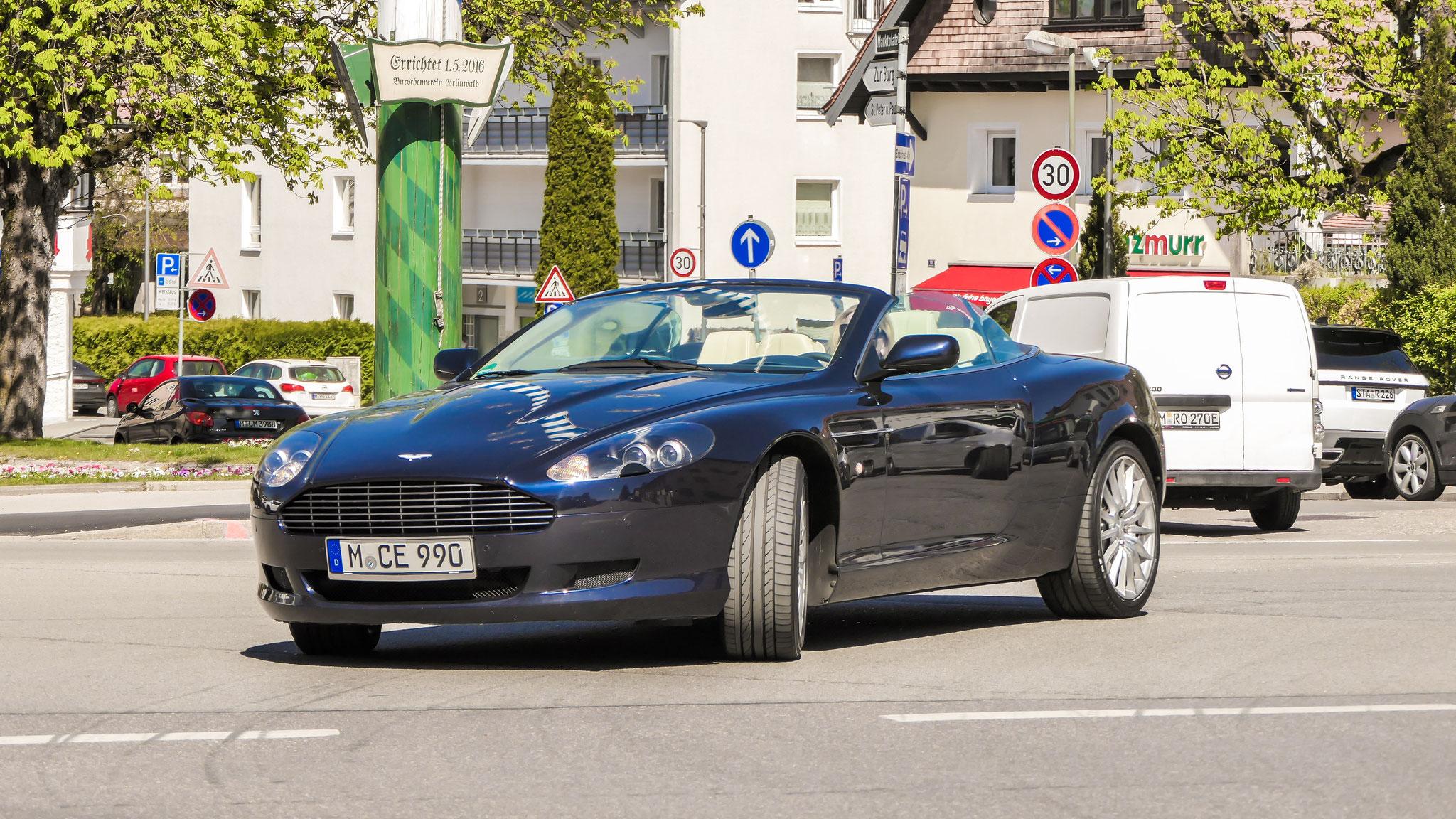 Aston Martin DB9 Volante - M-CE-990