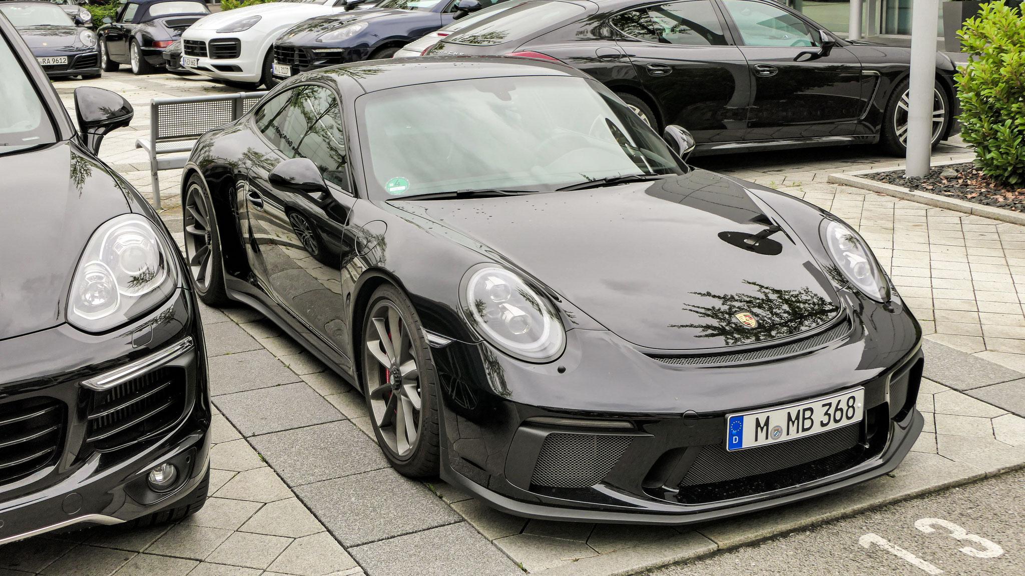 Porsche 991 GT3 Touring Package - M-MB-368