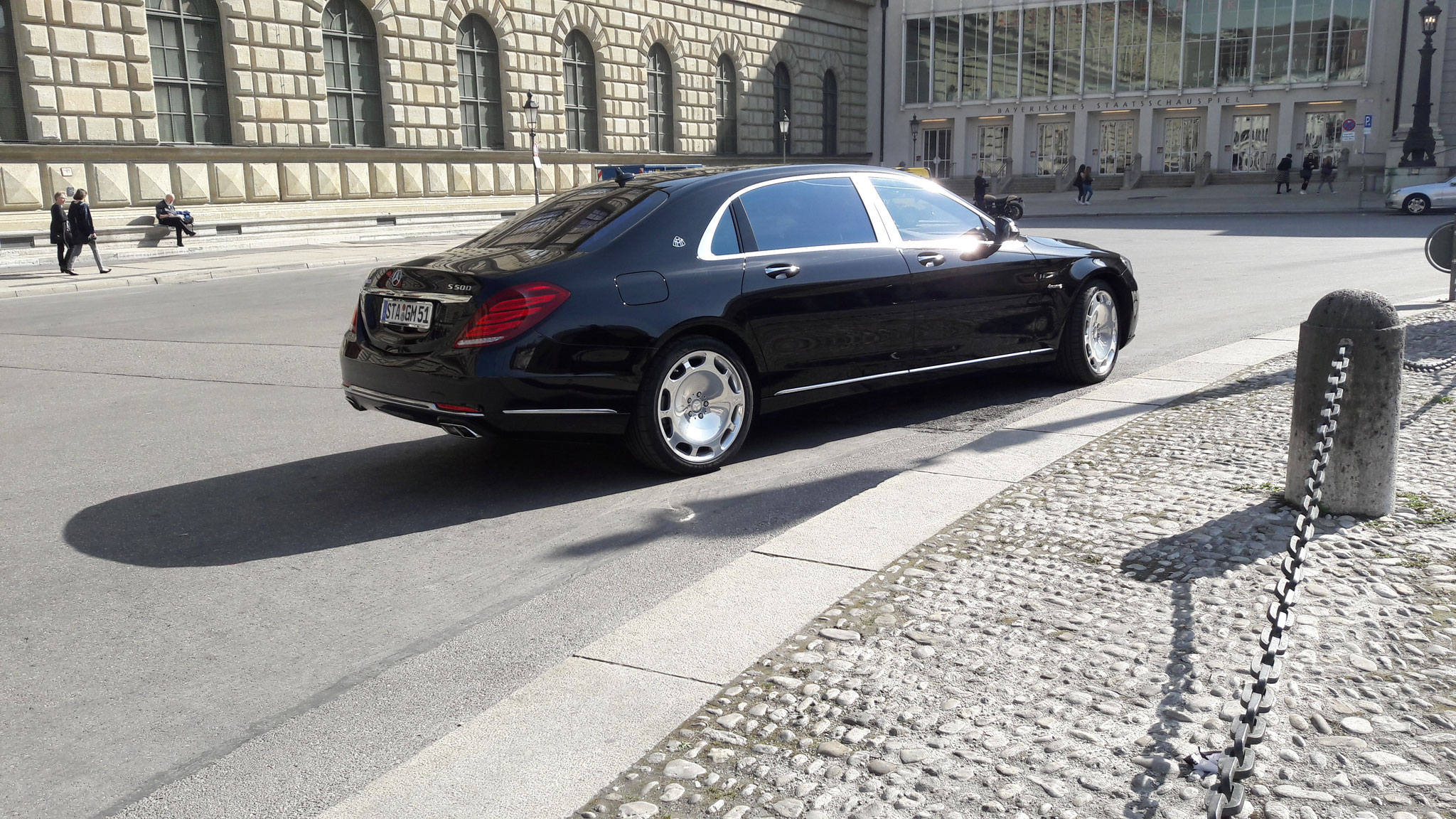 Mercedes Maybach S500 - STA-GM-51