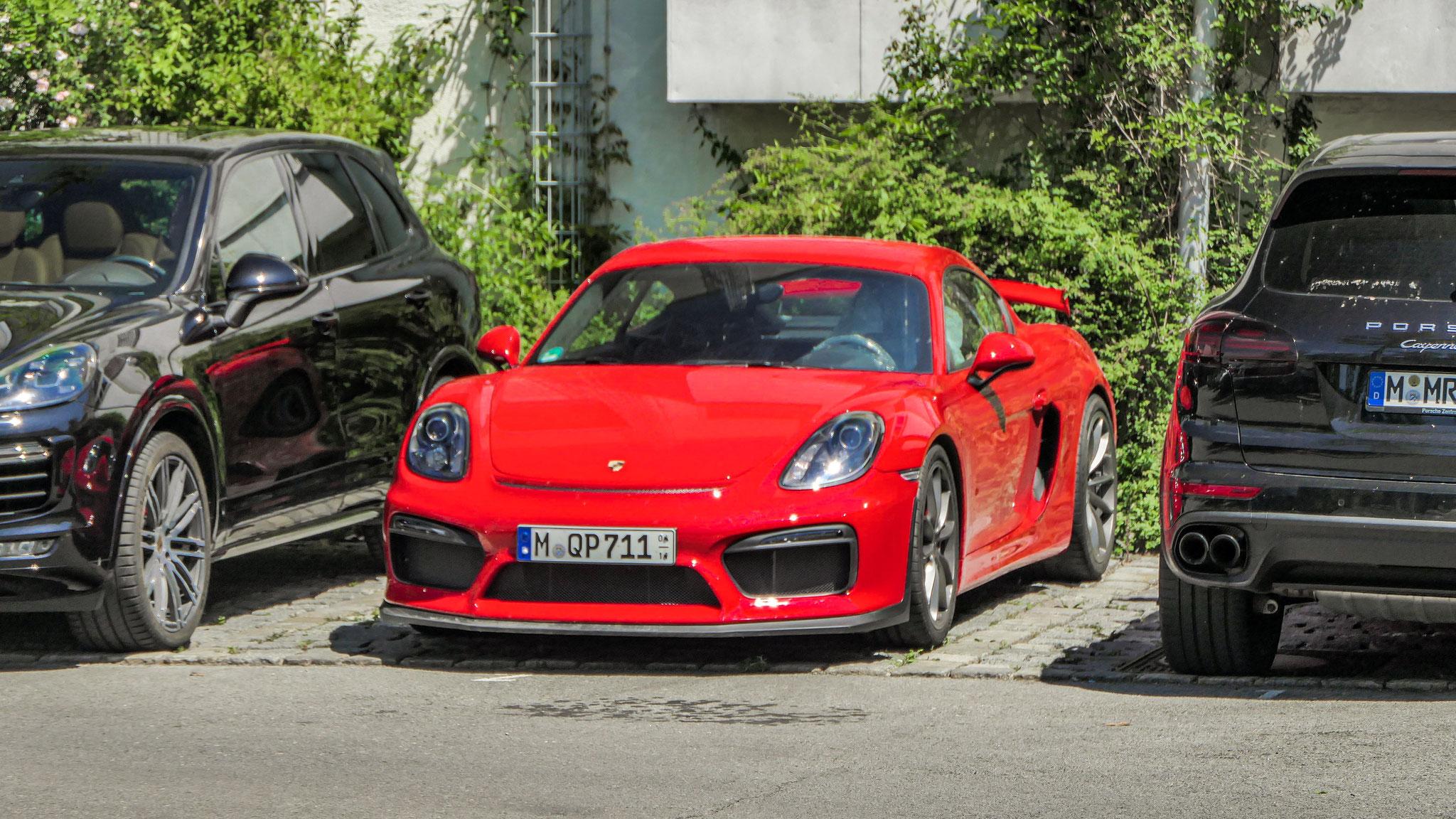 Porsche Cayman GT4 - M-QP-711