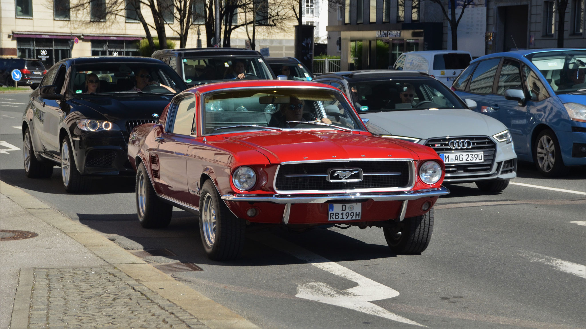 Mustang I - D-RB-199H