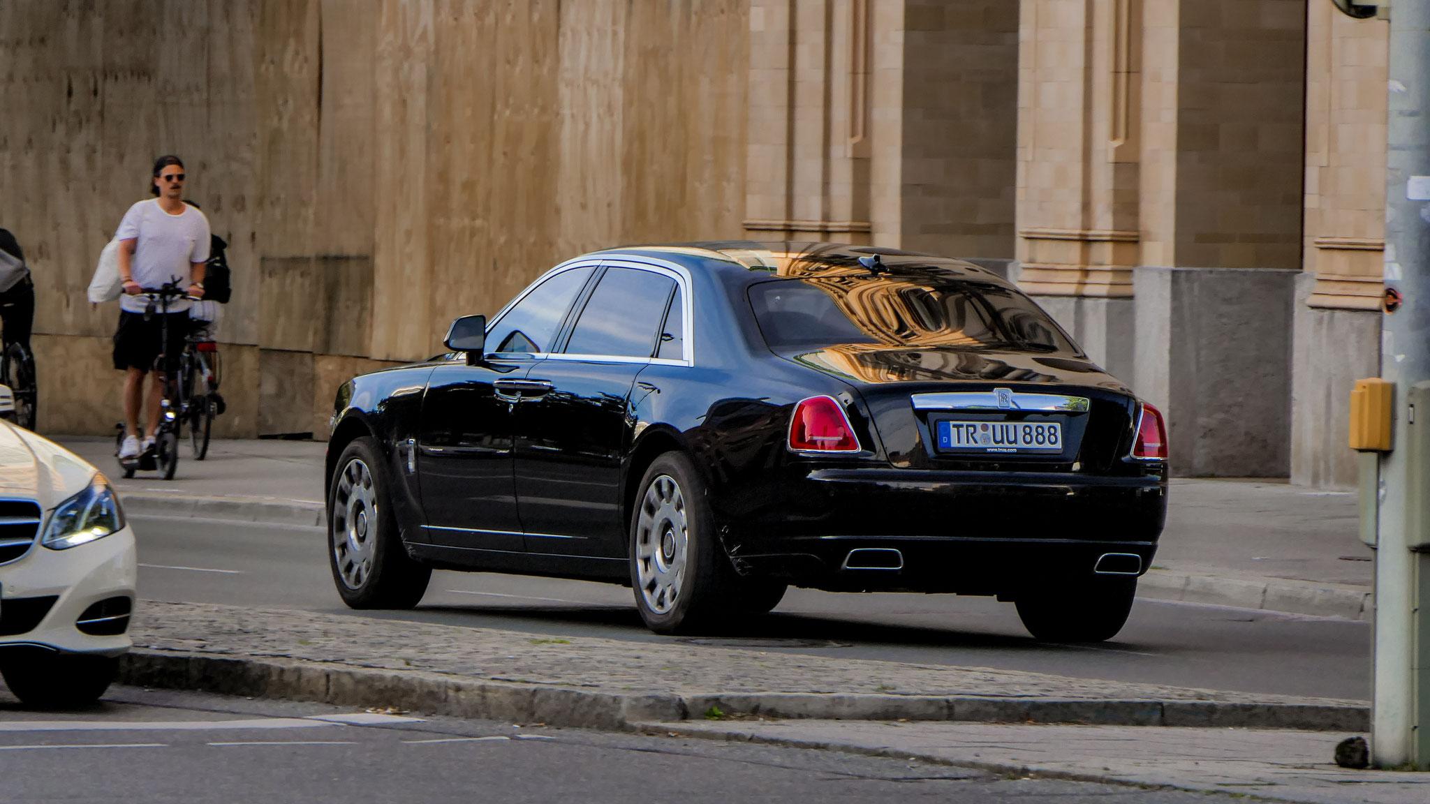 Rolls Royce Ghost Series II - TR-UU-888