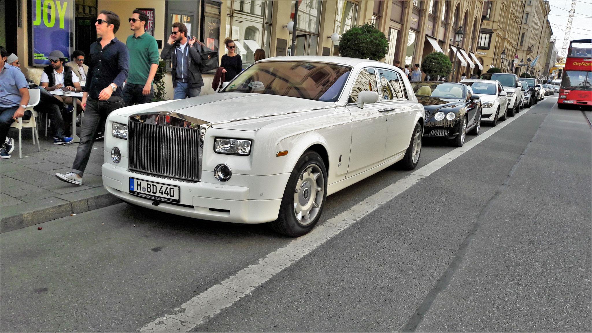 Rolls Royce Phantom EWB - M-BD-440