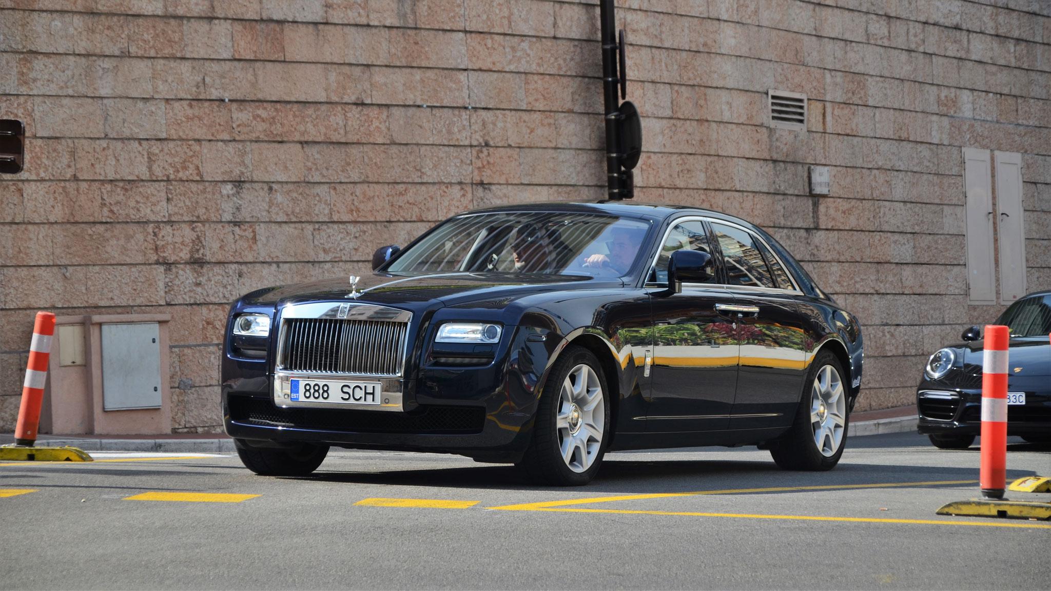 Rolls Royce Ghost - 888-SCH (EST)