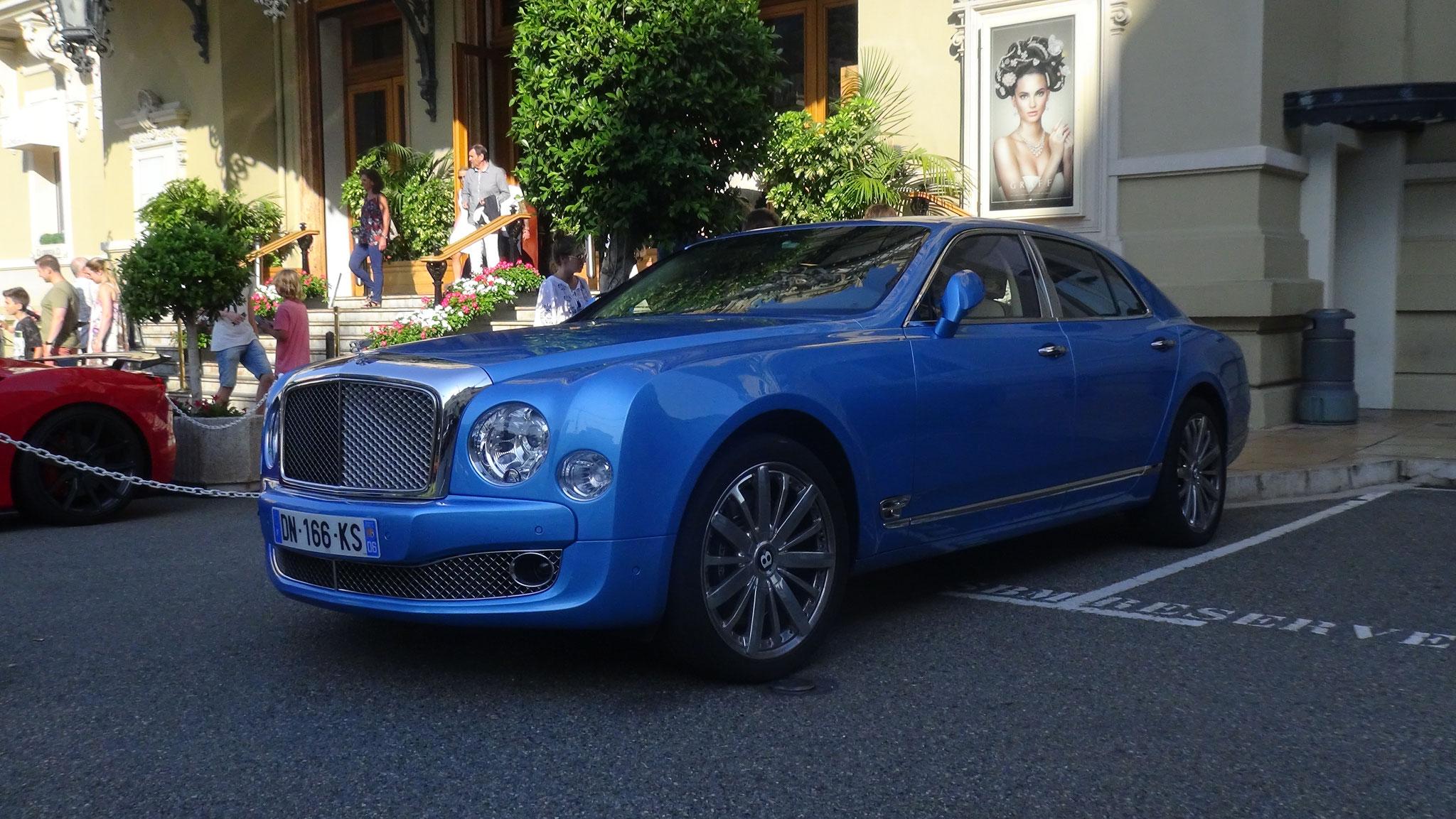 Bentley Mulsanne - DN-166-KS-06 (FRA)
