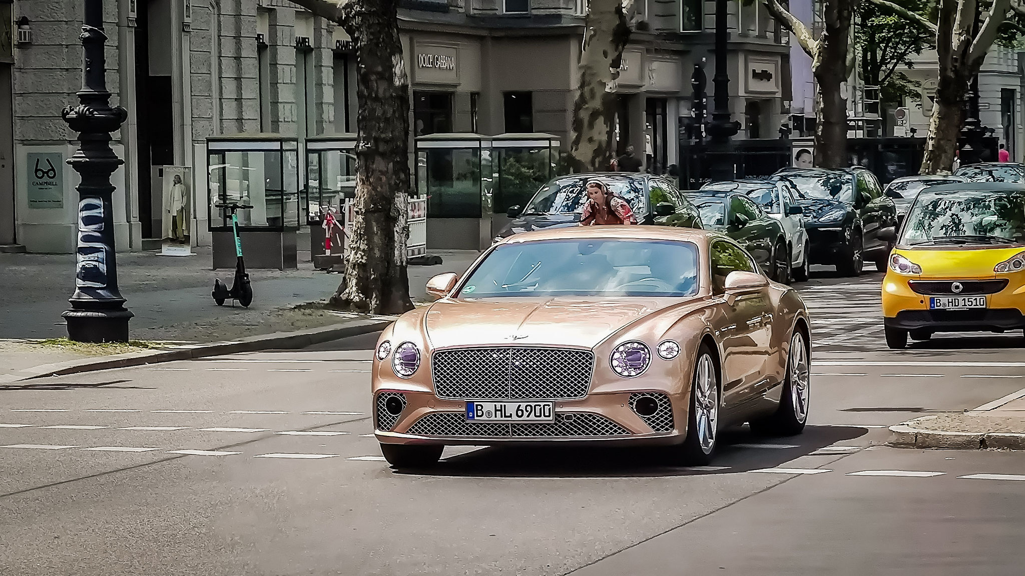 Bentley Continental GT - B-HL-6900