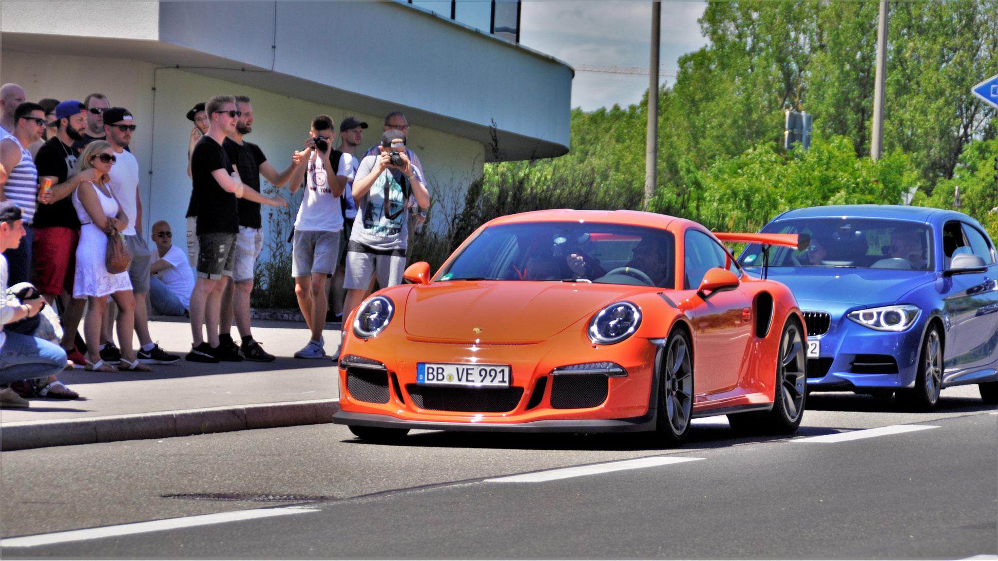Porsche 911 GT3 RS - BB-VE-991