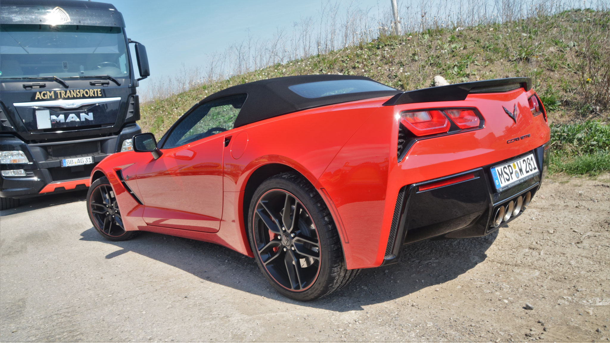 Chevrolet Corvette C7 Convertible - MSP-W-281