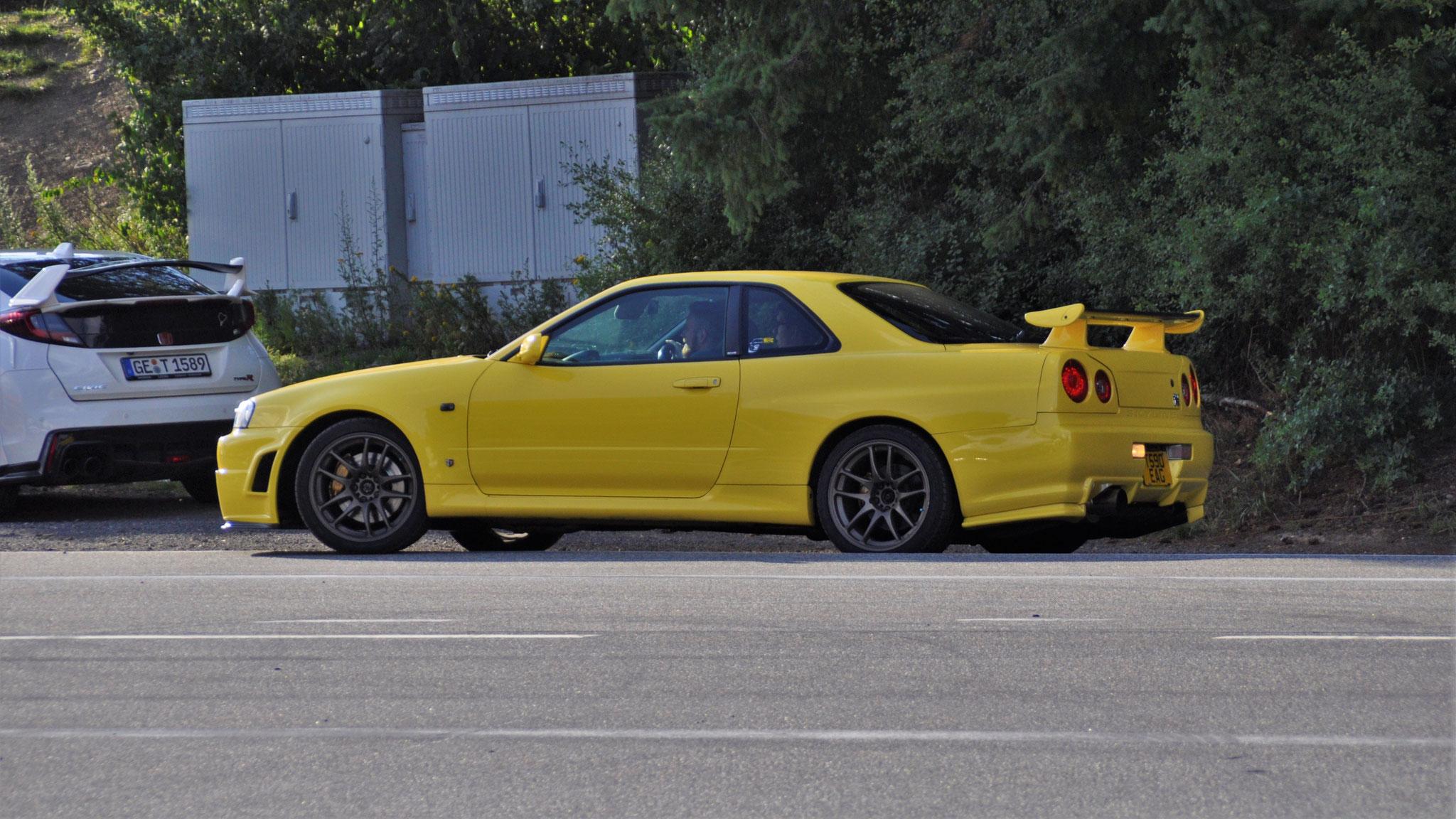 Nissan R34 GT-R - T590-EAG (GB)