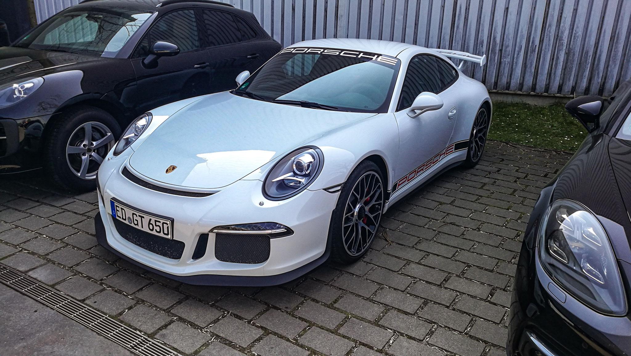 Porsche 991 GT3 - ED-GT-650