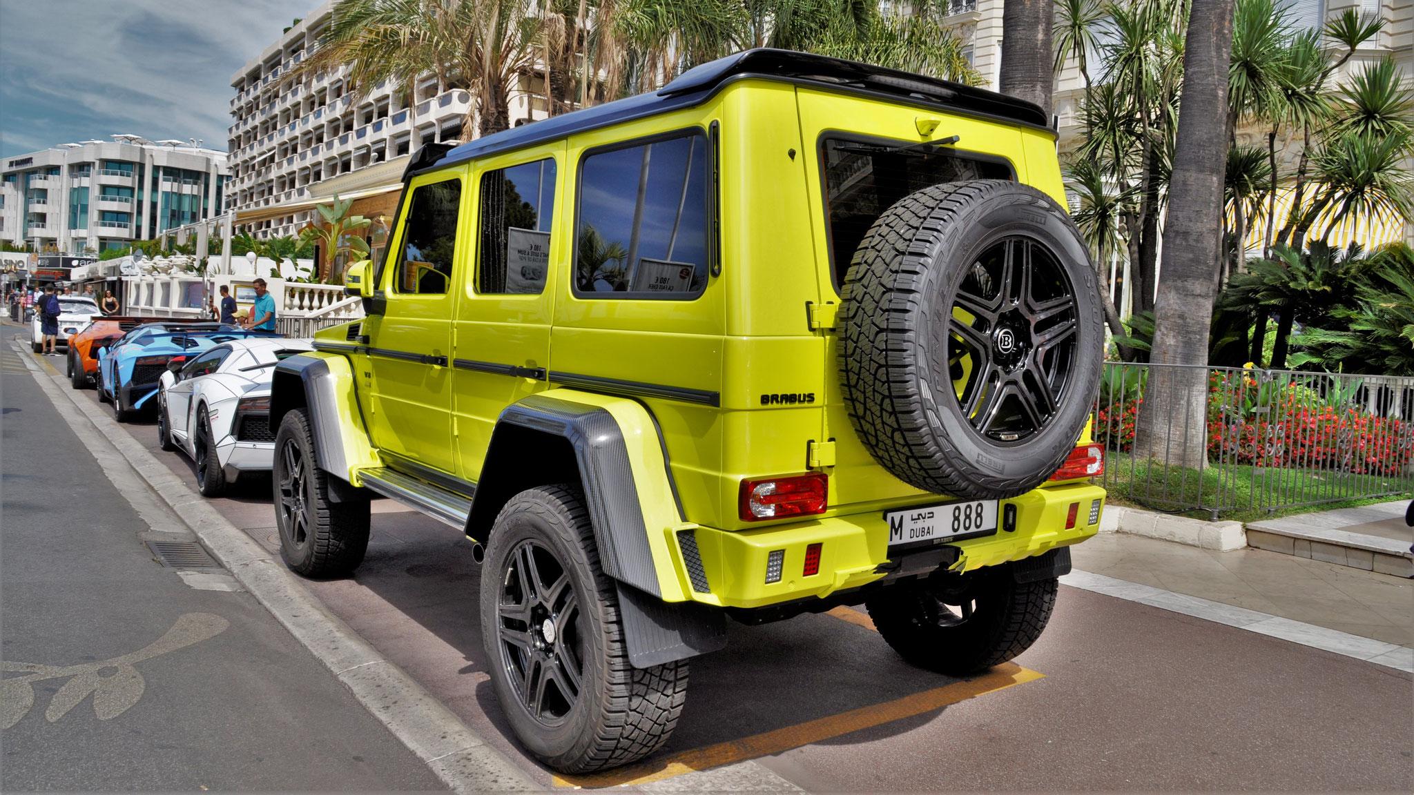 Brabus G500 4x4² - M-888 (Dubai)