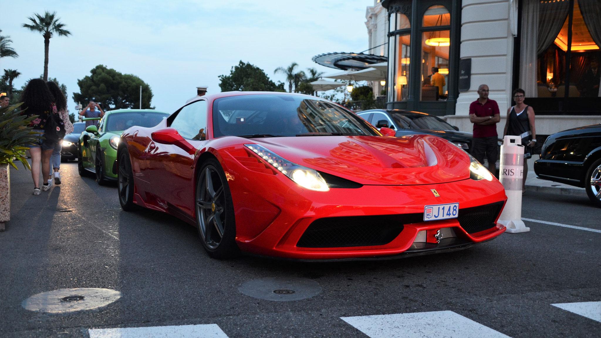 Ferrari 458 Speciale - J148 (MC)