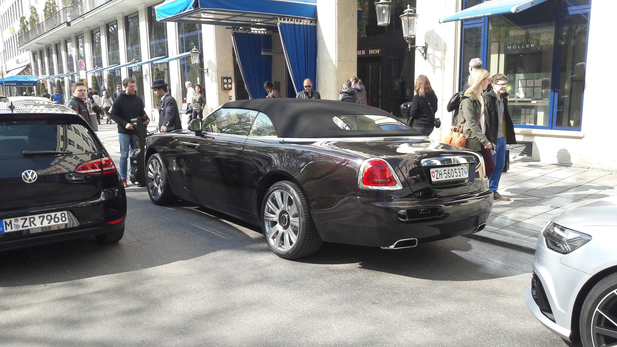 Rolls Royce Dawn - ZH-560537 (CH)
