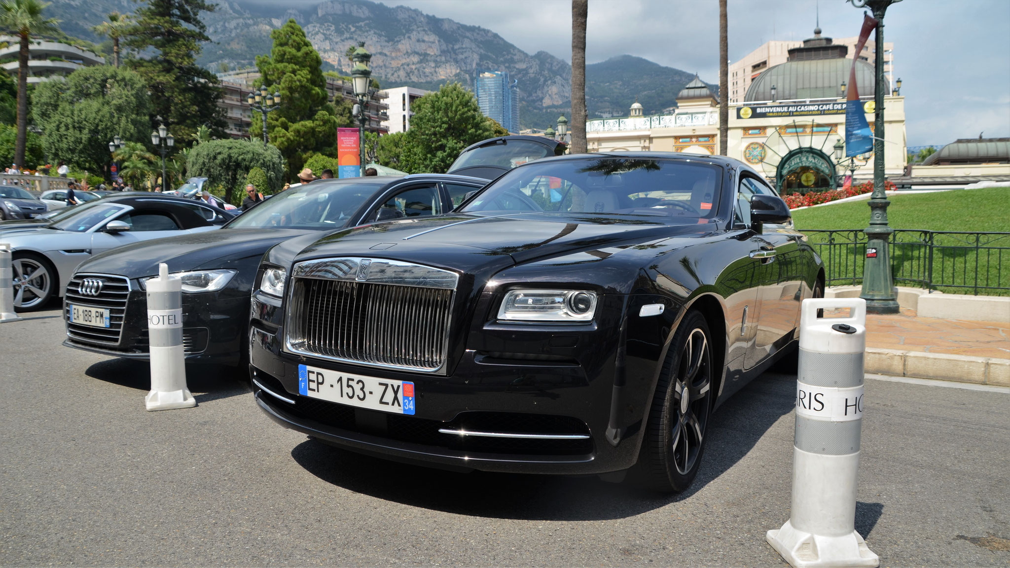 Rolls Royce Wraith - EP-153-ZX-34 (FRA)