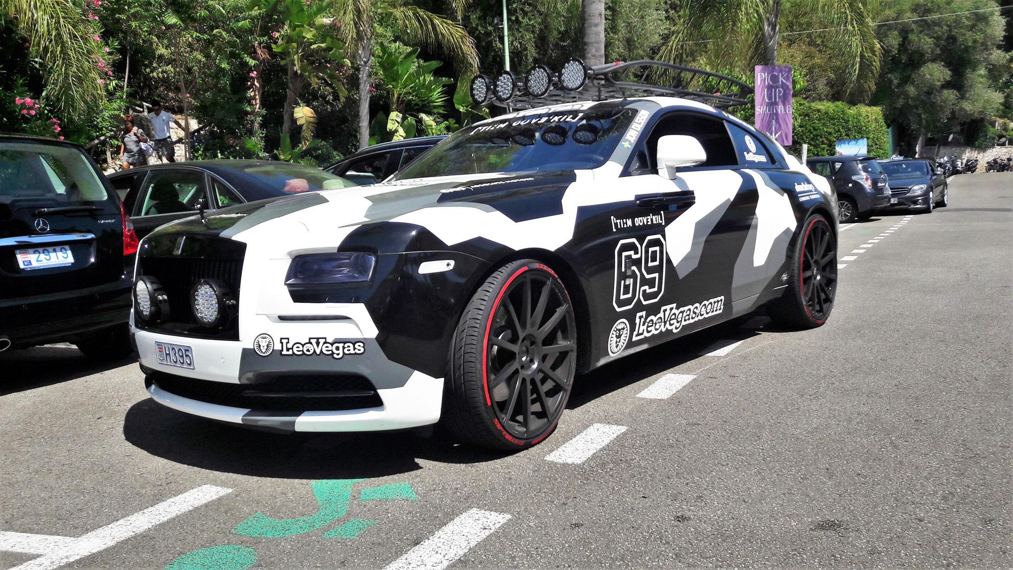 Rolls Royce Wraith Jon Olsson - H395 (MC)