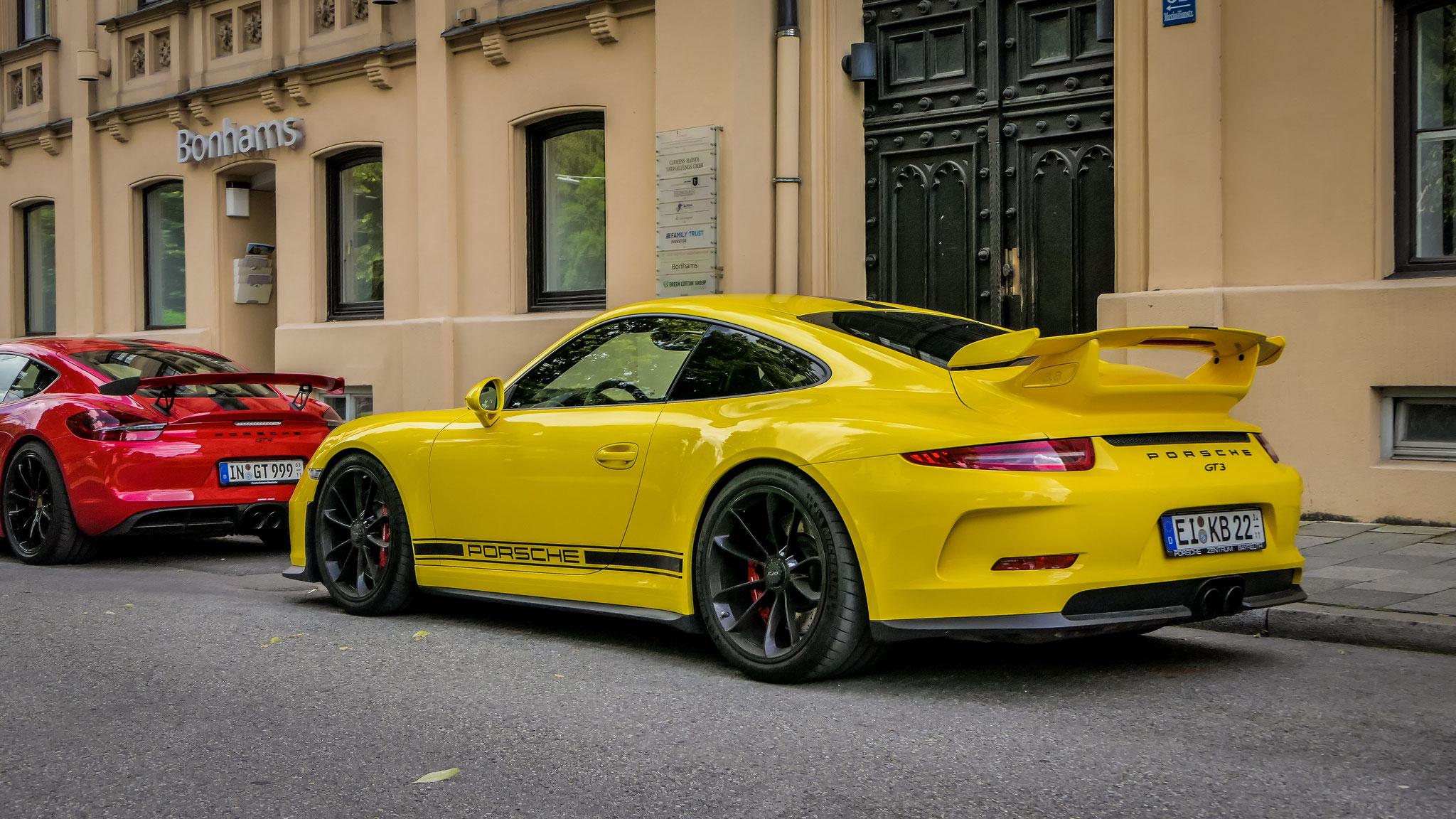 Porsche 991 GT3 - EI-KB-22