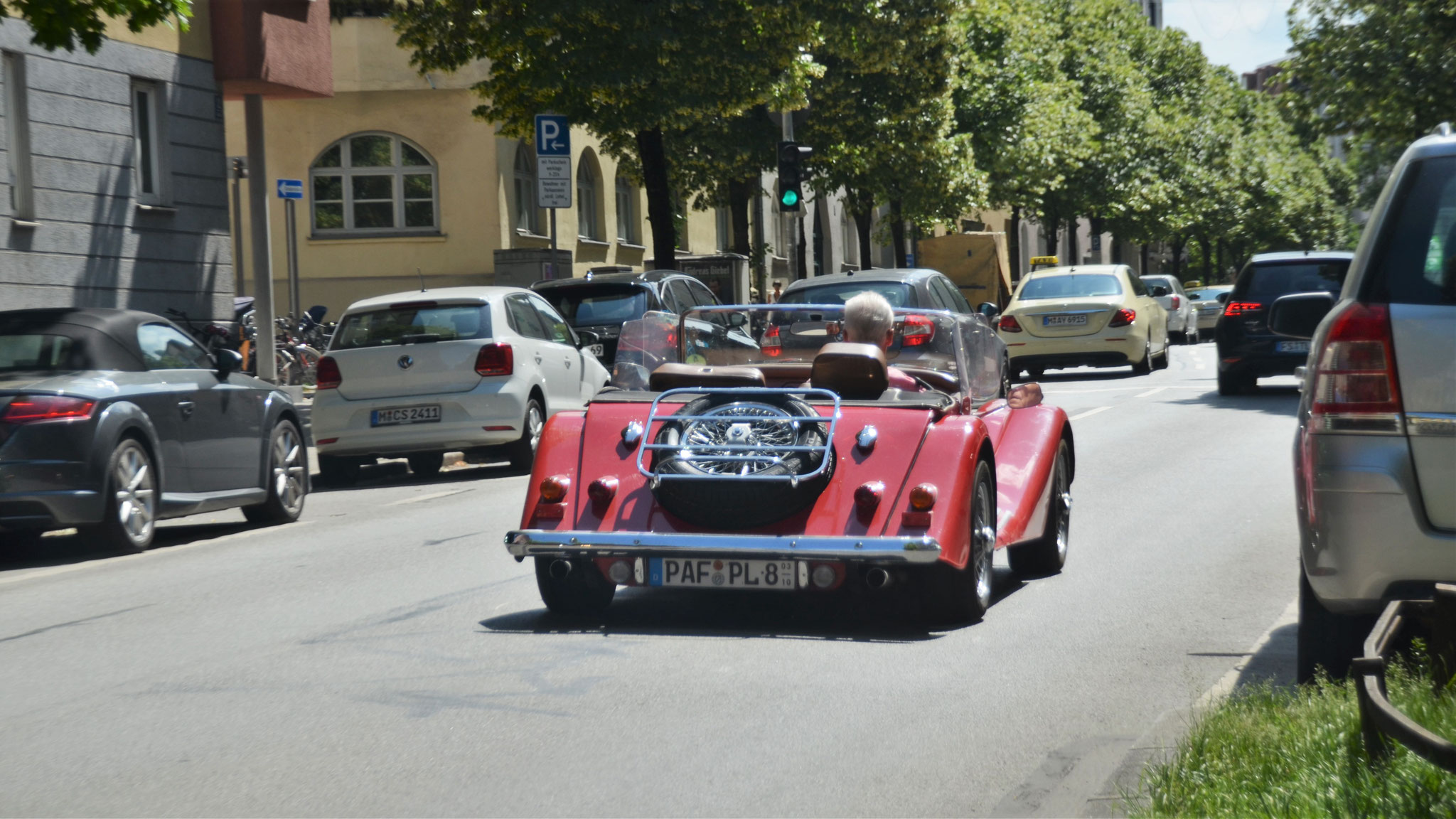 Morgan Plus 8 - PAF-PL-8