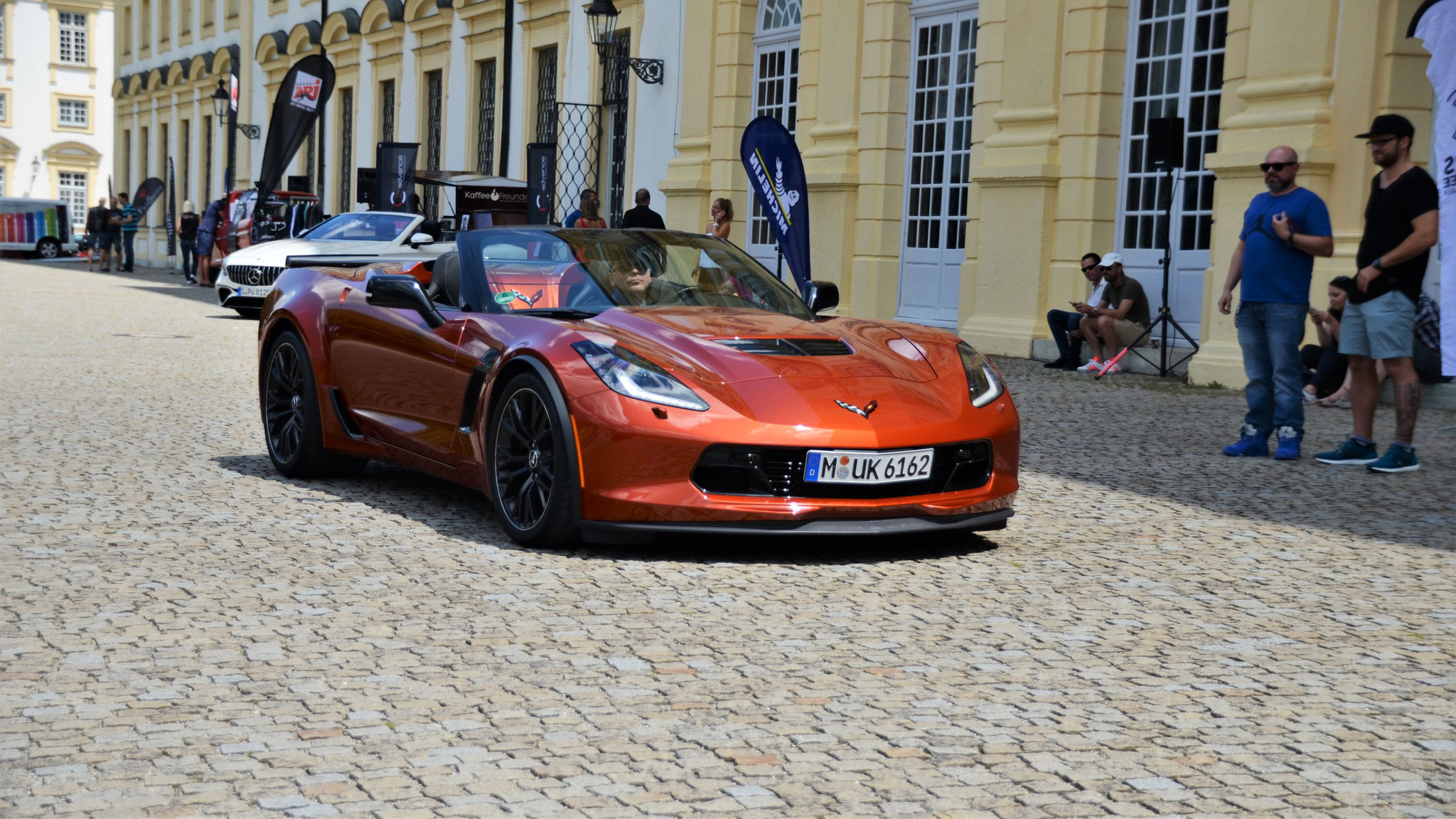 Chevrolet Corvette C7 Z06 Convertible - M-UK-6162