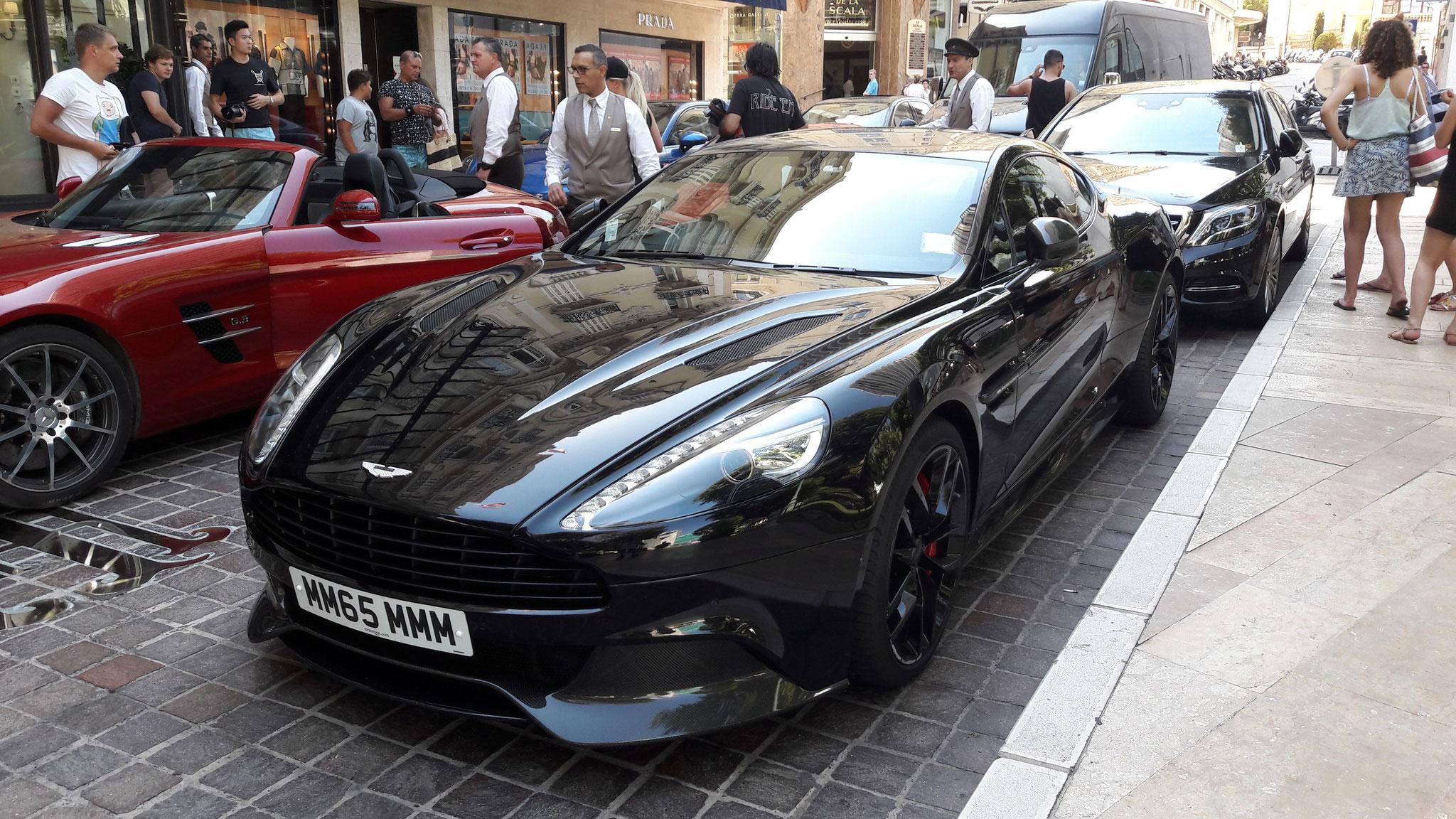 Aston Martin Vanquish - MM65-MMM (GB)