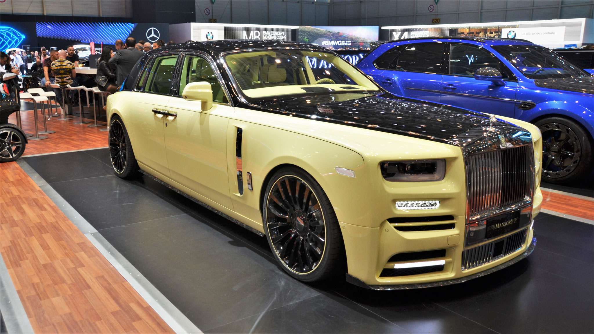 Masory Rolls Royce Phantom - 1141 (QAT)