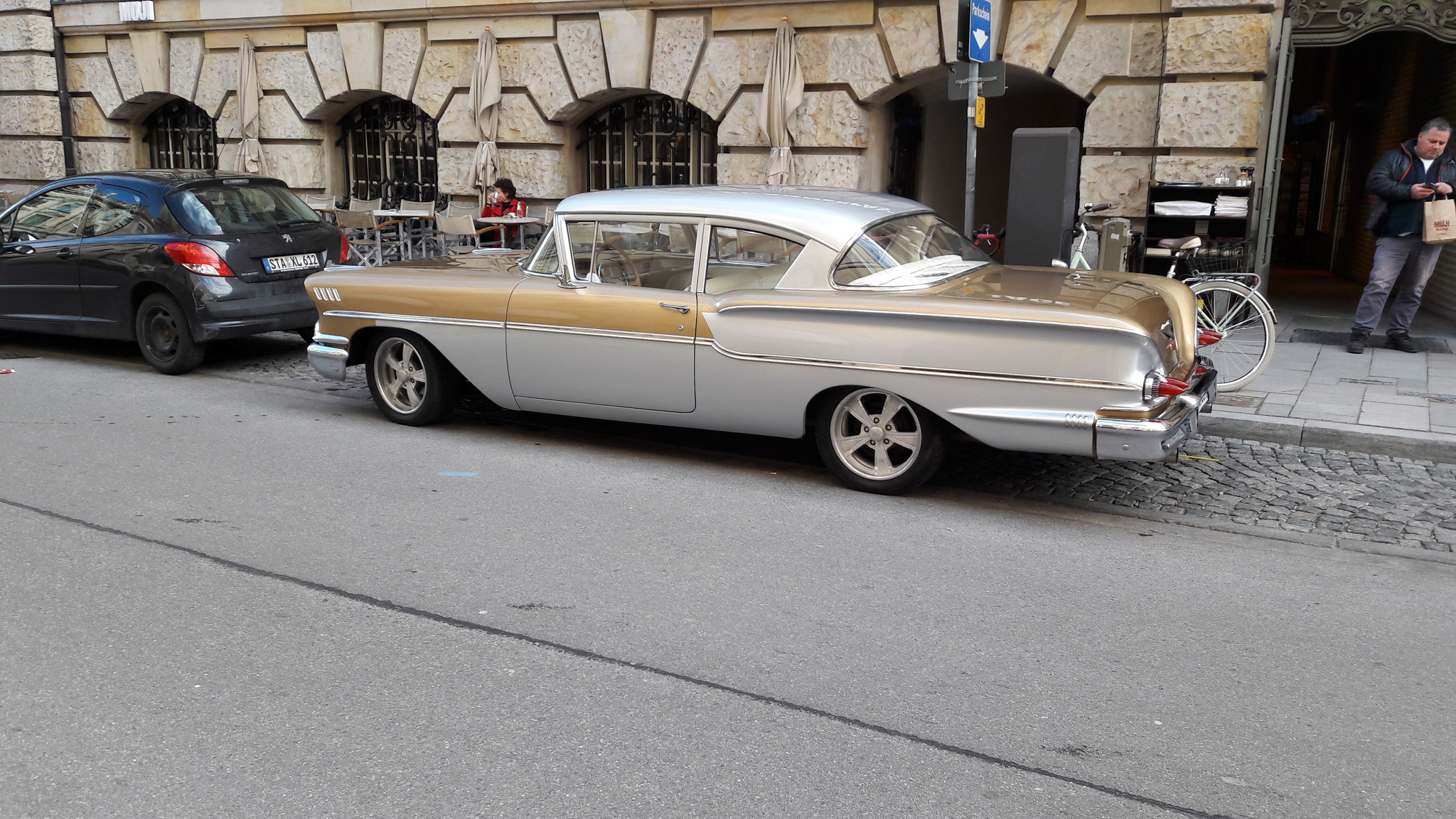 Chevrolet Bel Air - M-BA-1958H