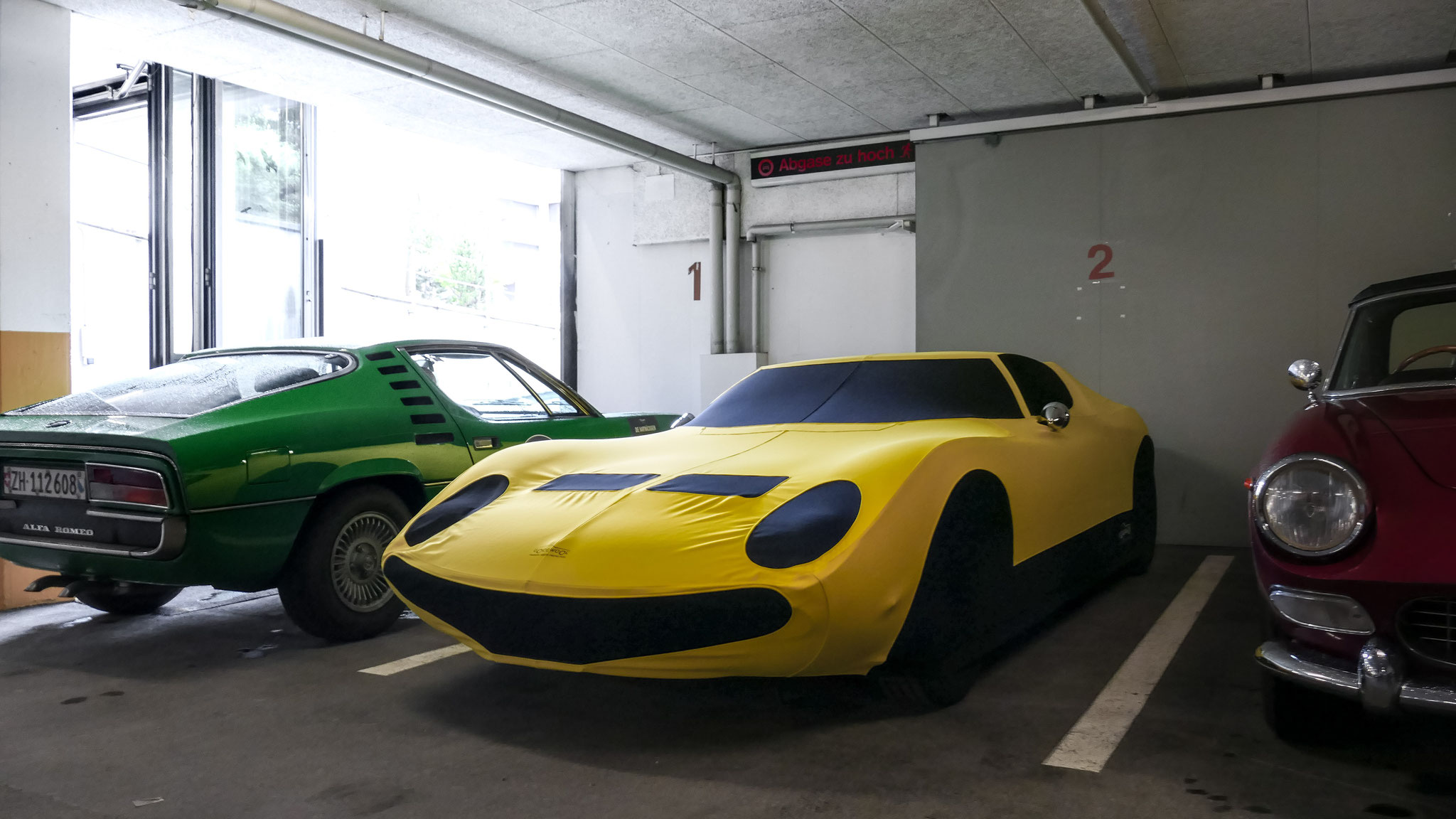 Lamborghini Miura - LU-91175-U (CH)
