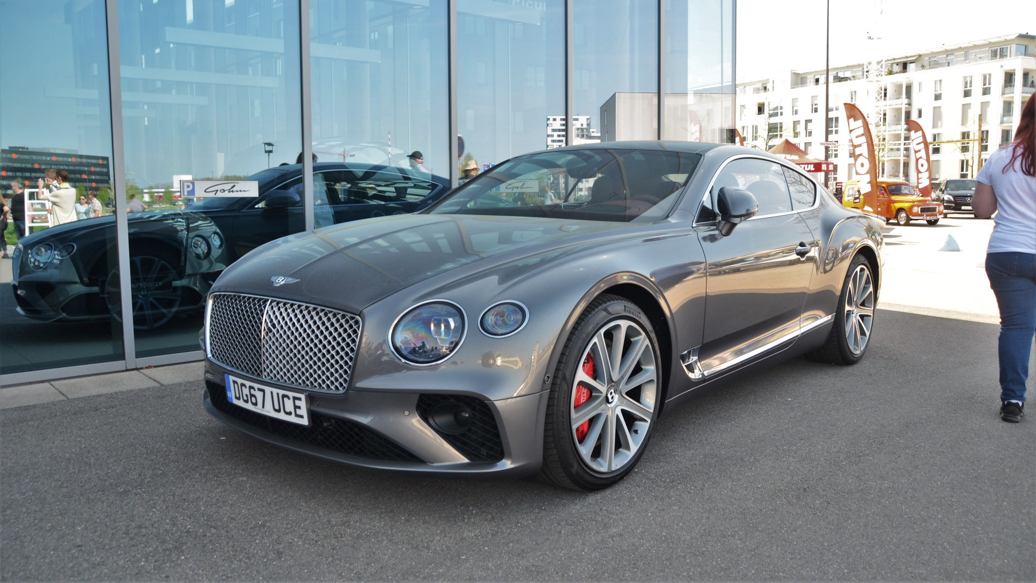 Bentley Continental GT - DG67-UCE (GB)