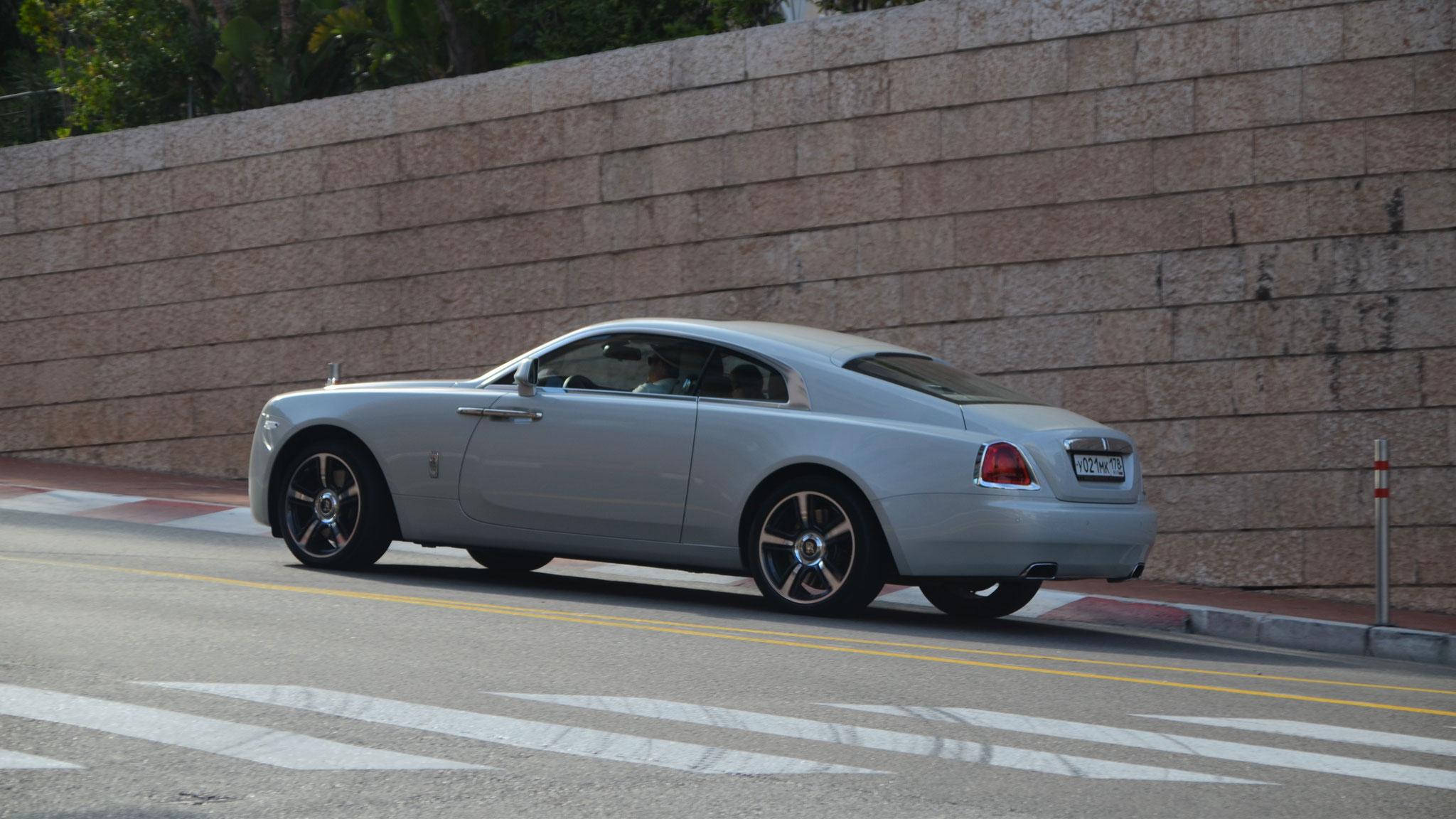 Rolls Royce Wraith - Y021-MK-178 (RUS)