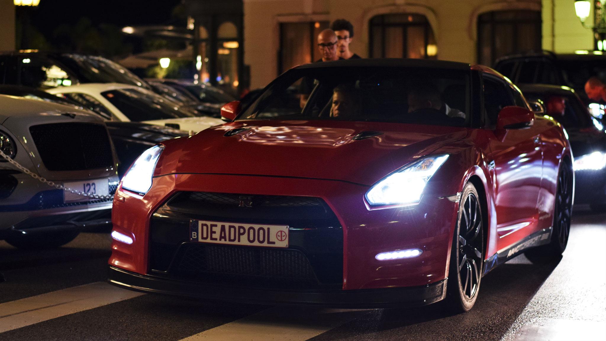 Nissan GTR - DEADPOOL (BEL)