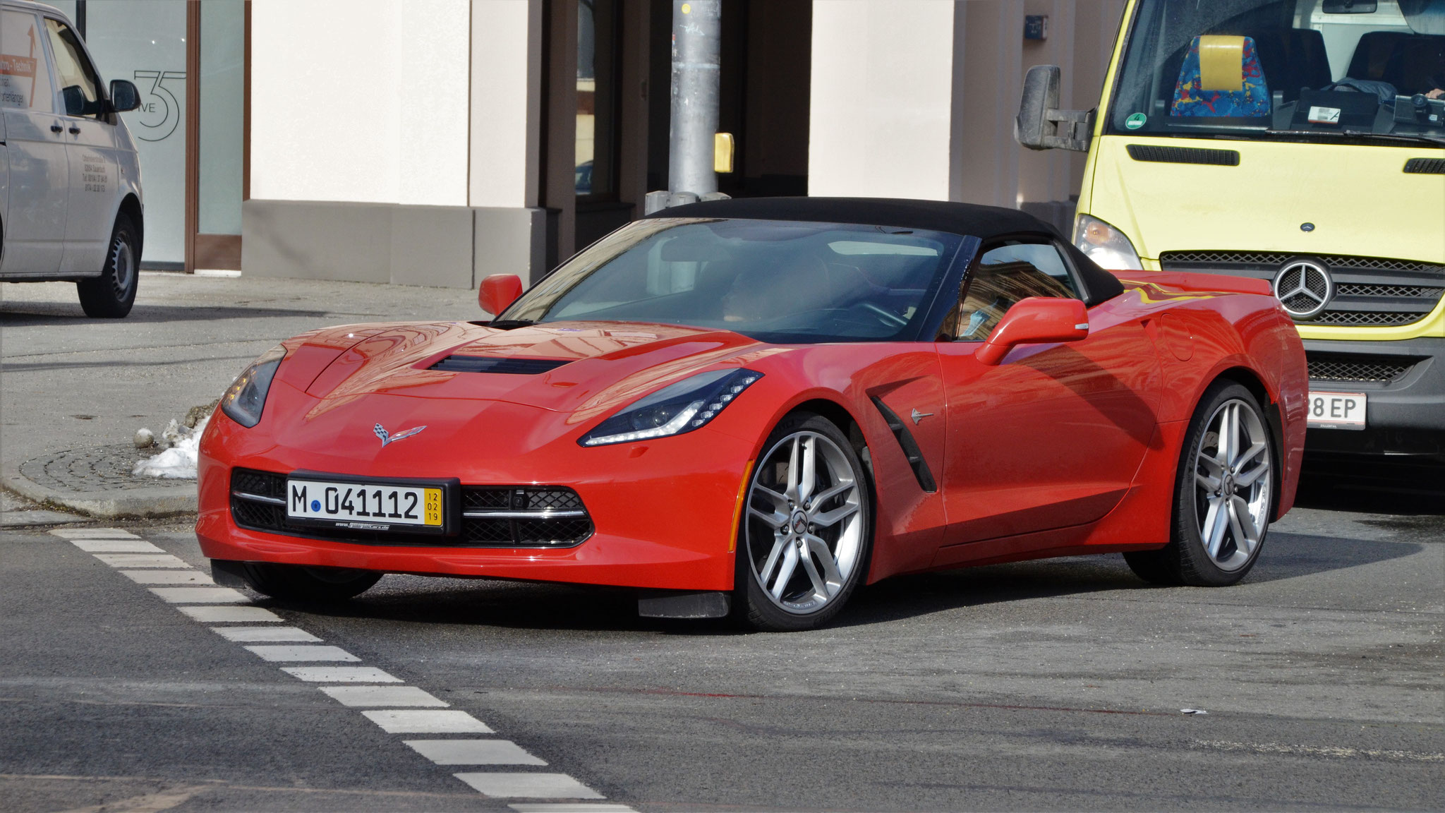 Chevrolet Corvette C7 Convertible - M-041112