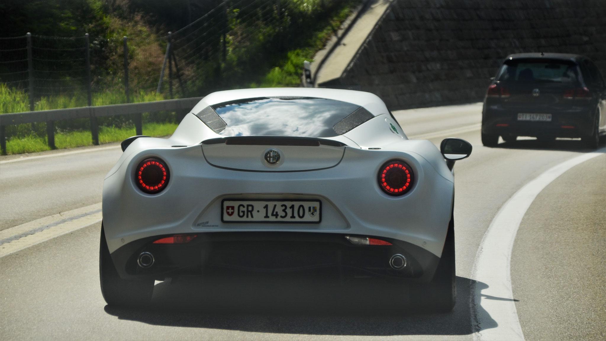 Alfa Romeo 4C - GR-14310 (CH)