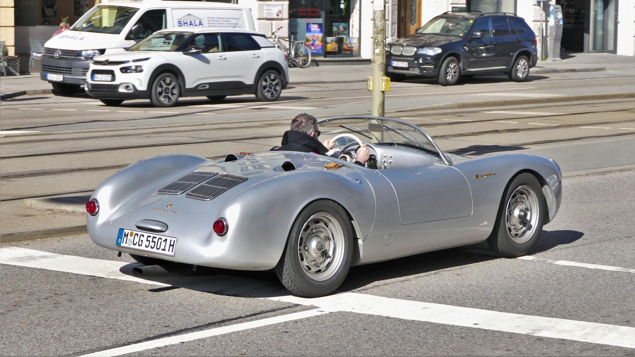 Porsche 550 Spyder - M-CG-5501H