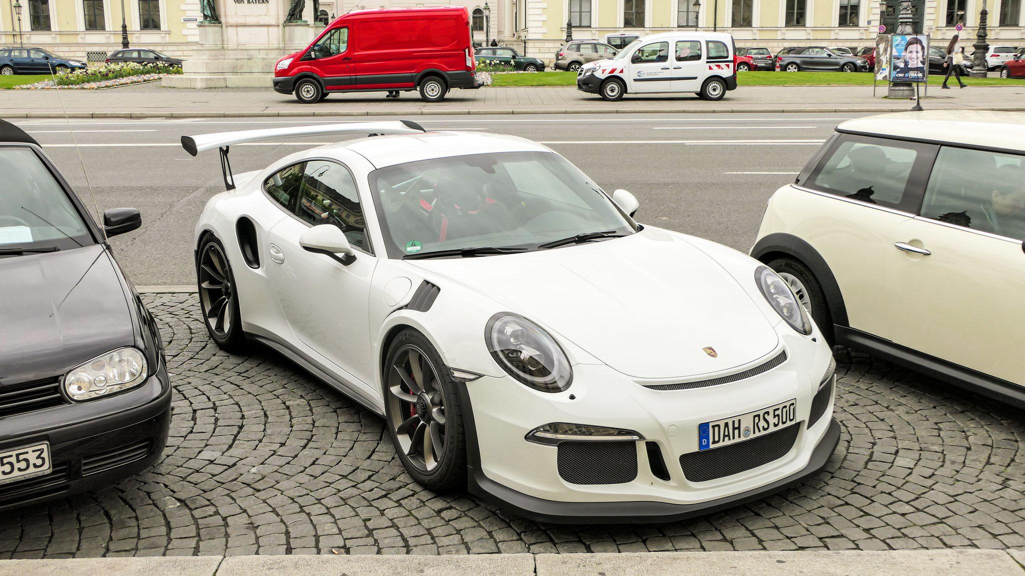 Porsche 911 GT3 RS - DAH-RS-500