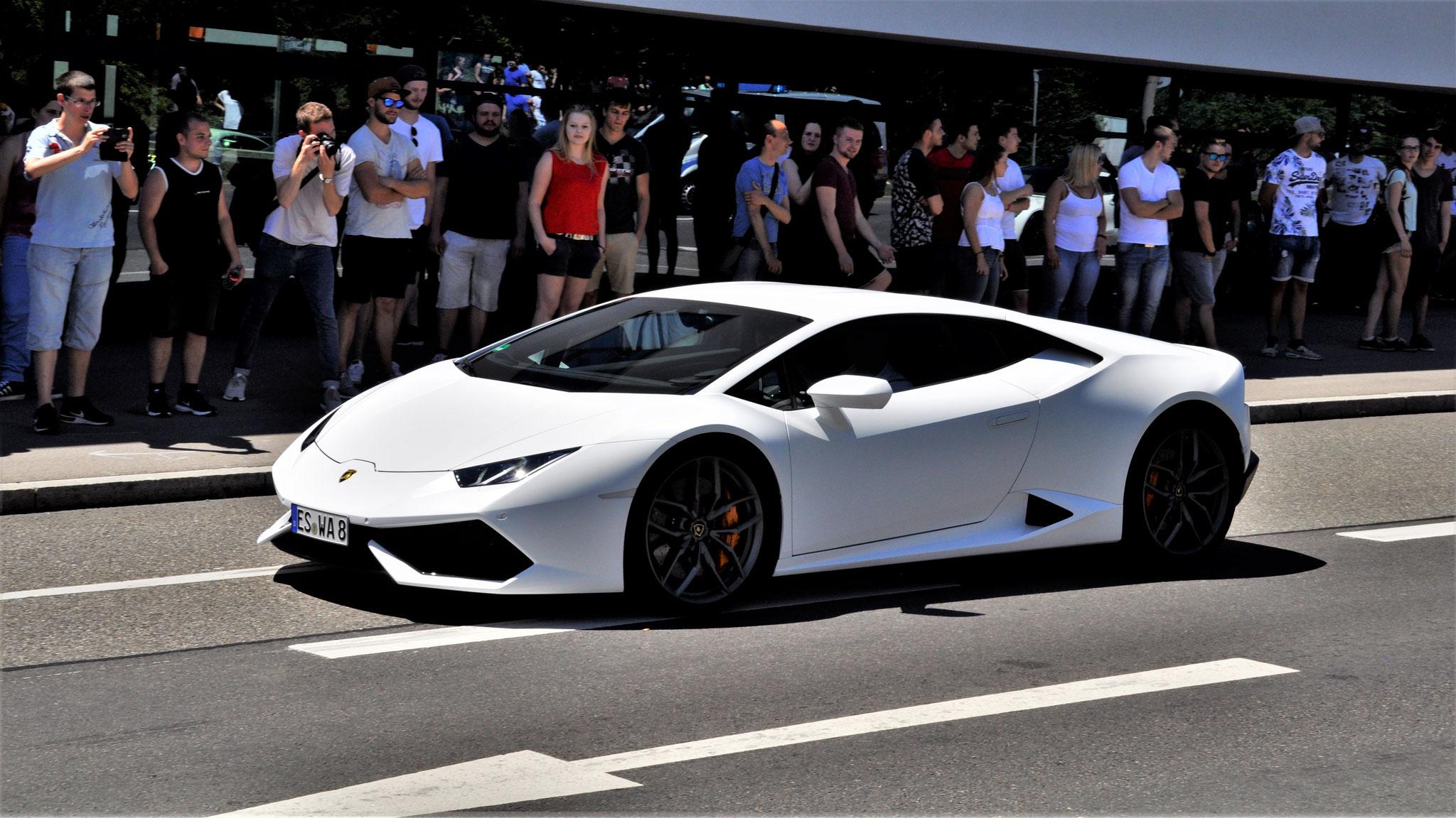 Lamborghini Huracan - ES-WA-8