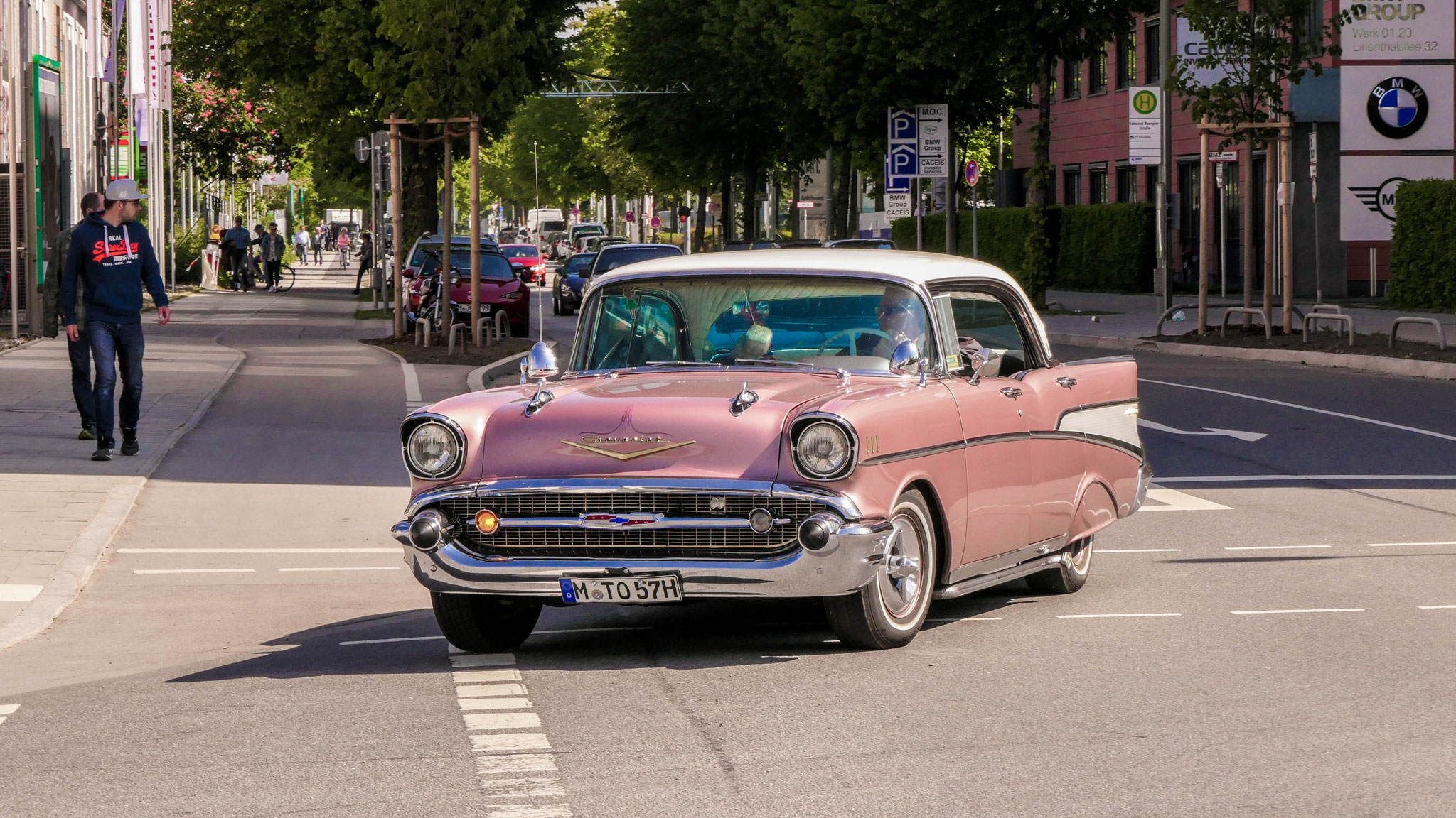 Chevrolet Bel Air - M-TO-57H