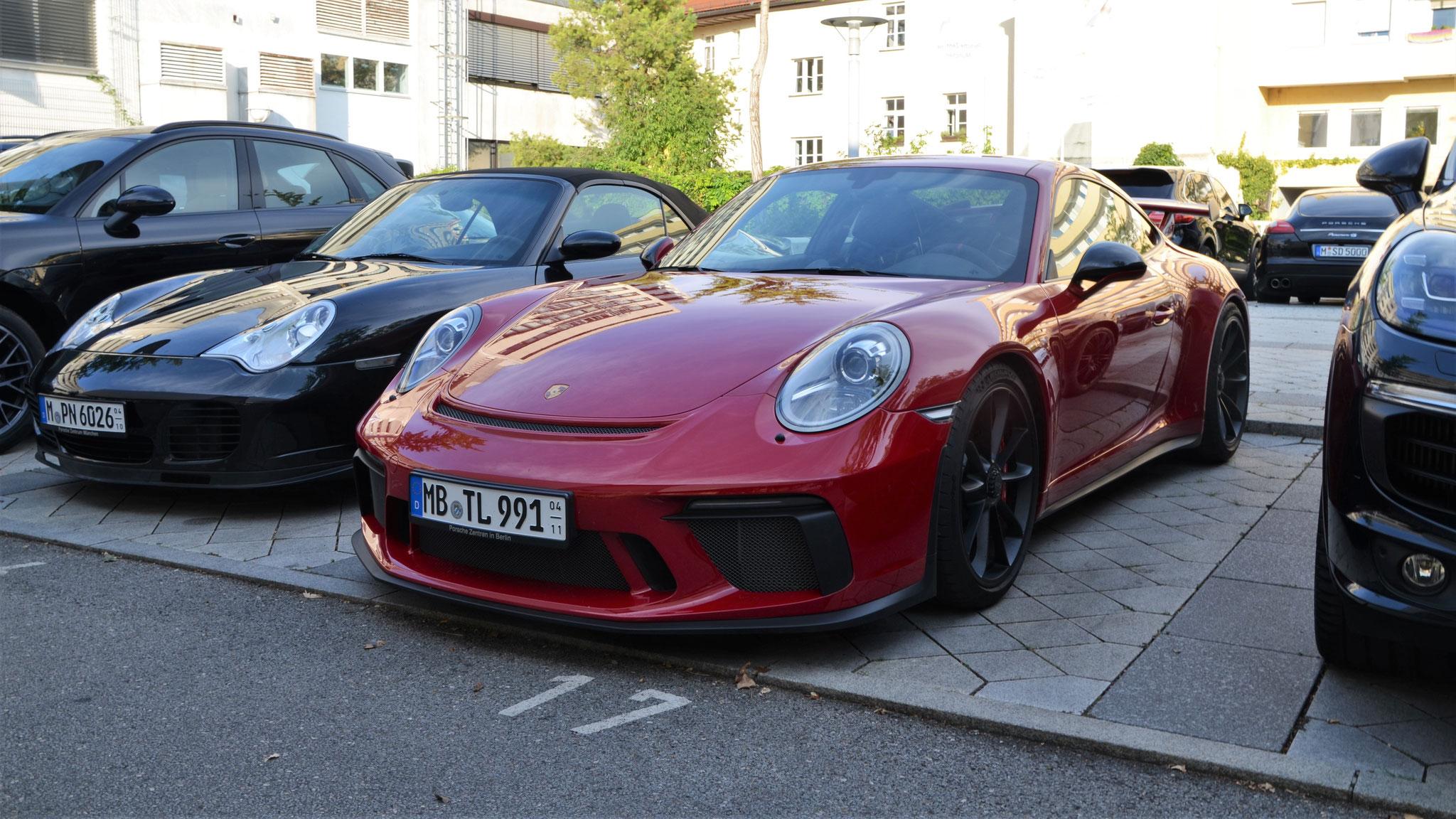 Porsche 991 GT3 - MB-TL-991