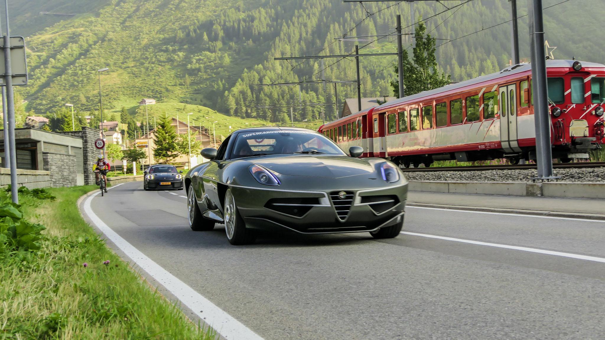 Alfa Romeo Disco Volante - EV-886-VW-75 (FRA)