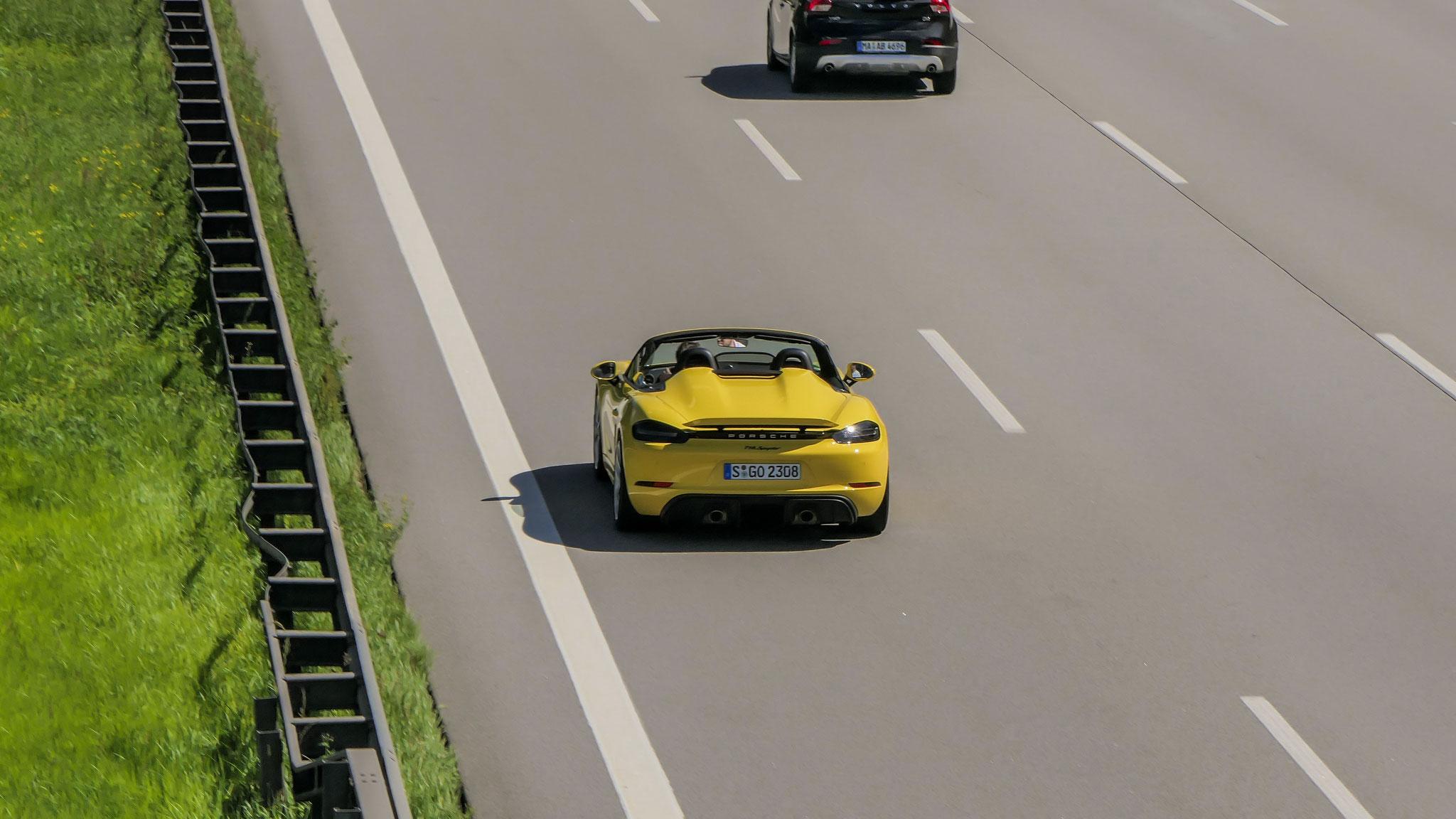 Porsche 718 Spyder - S-GO-2308
